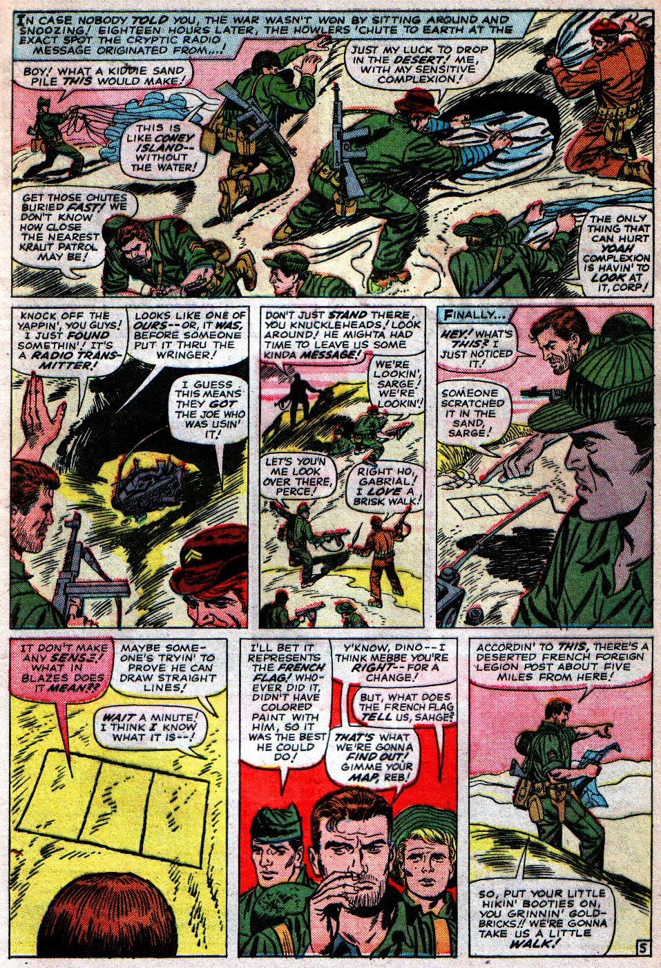 Read online Sgt. Fury comic -  Issue #16 - 9