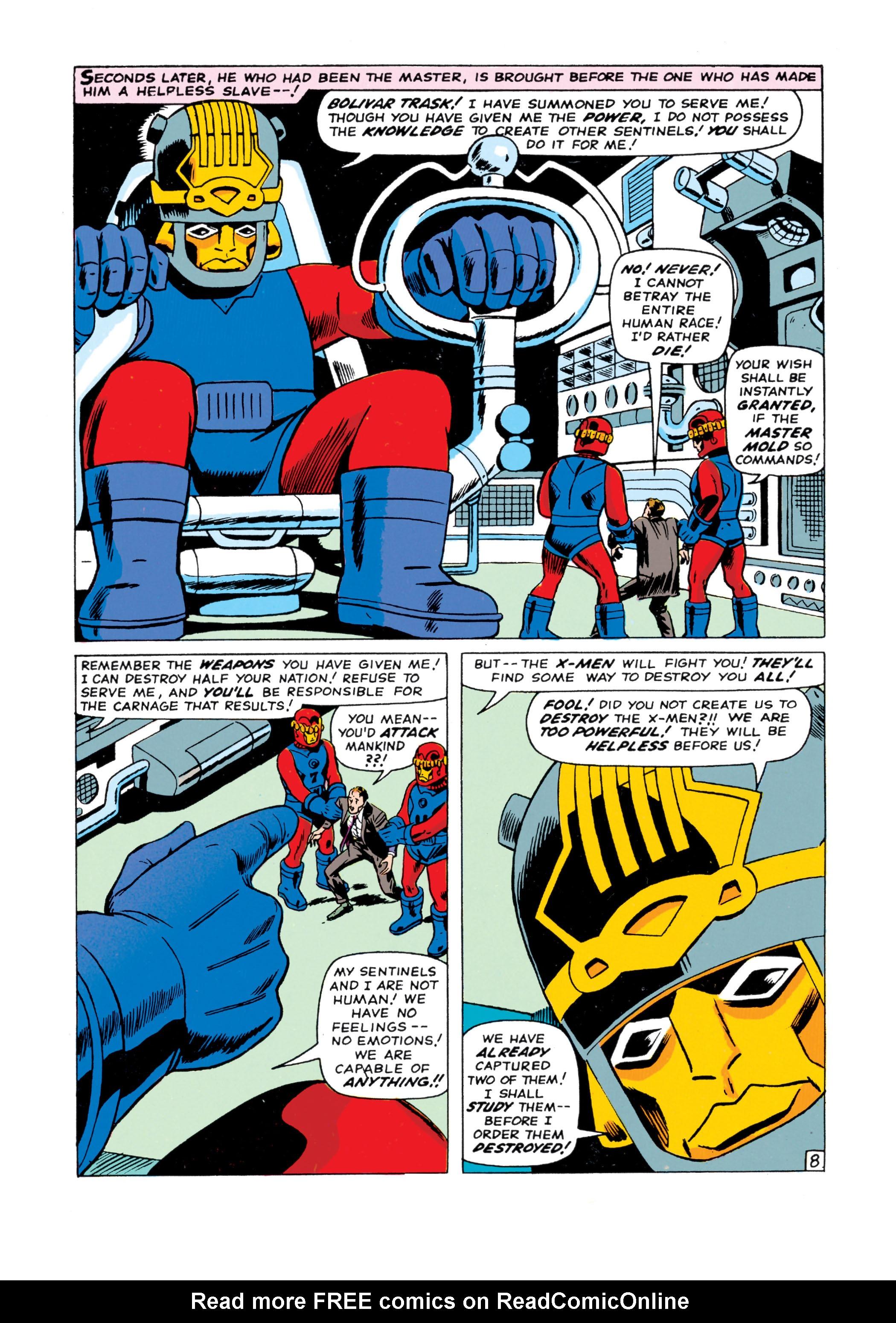 Read online Uncanny X-Men (1963) comic -  Issue #15 - 9