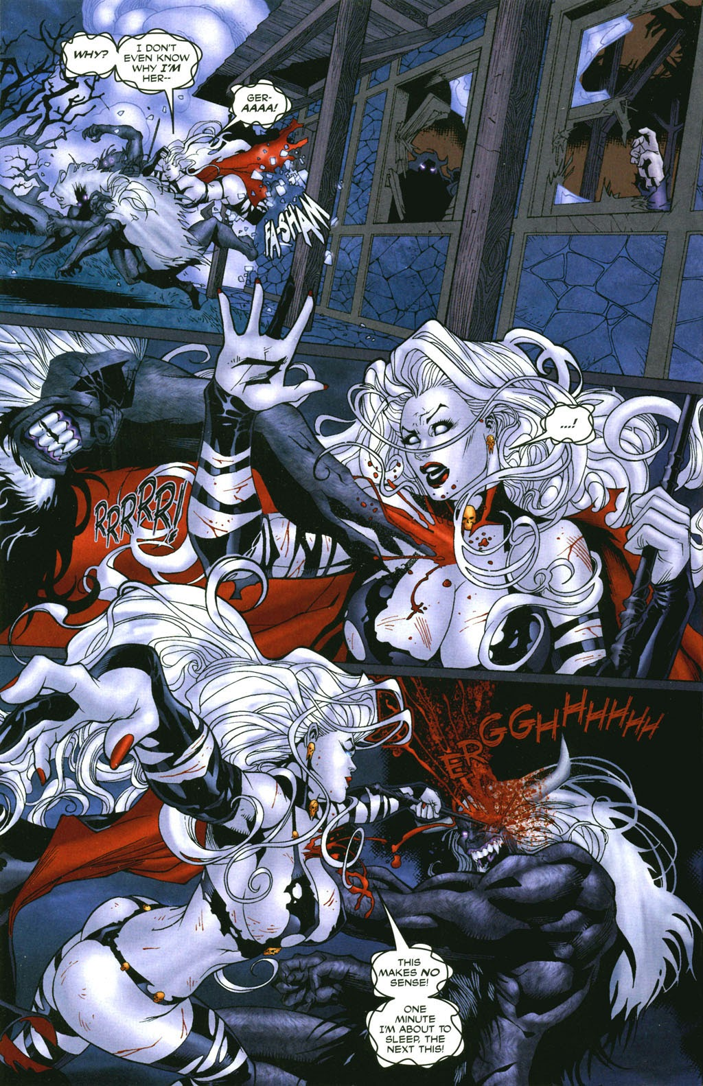 Read online Lady Death: The Wicked comic -  Issue #1 - 12