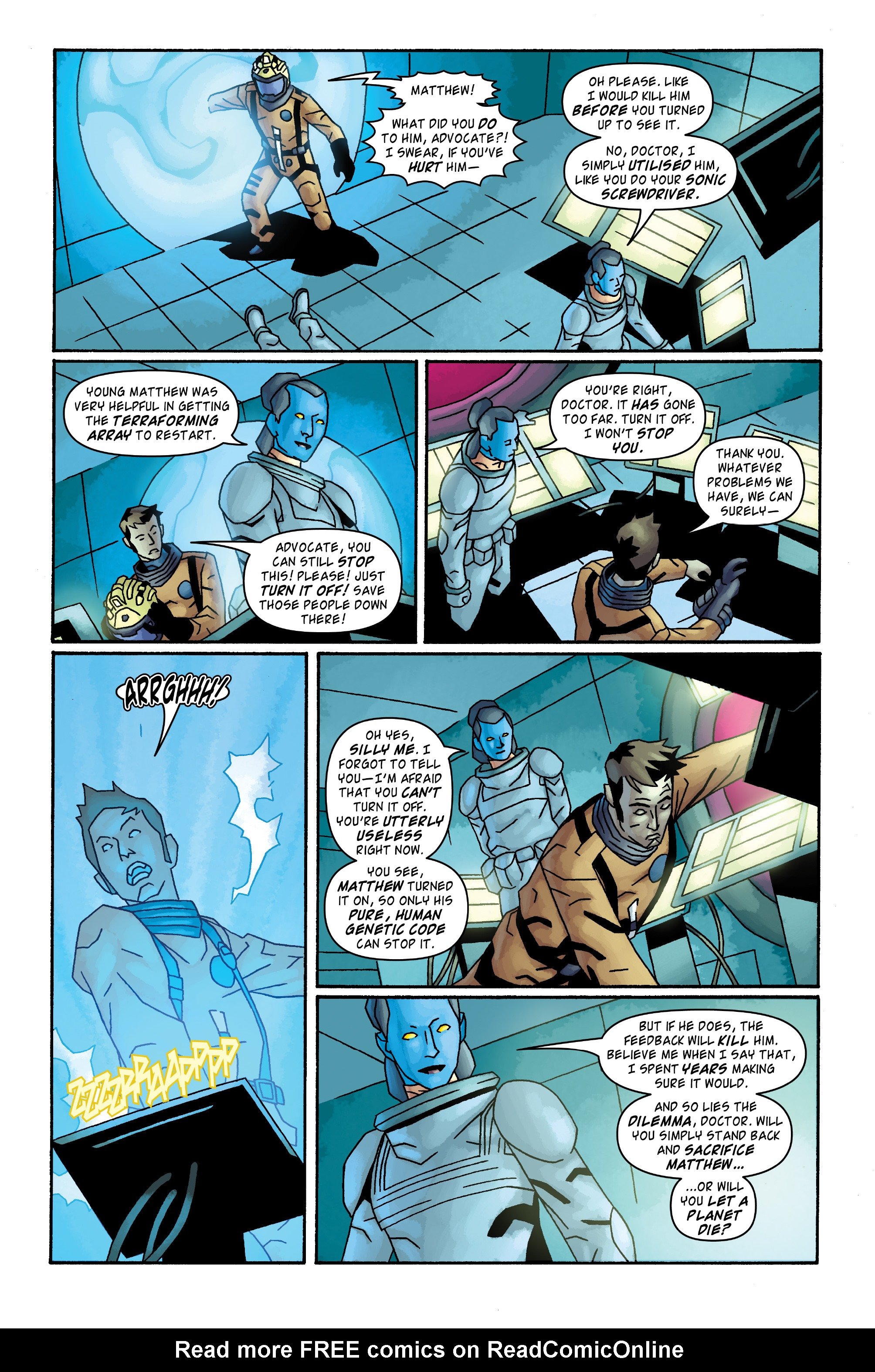 Read online Doctor Who: The Tenth Doctor Archives comic -  Issue #33 - 19