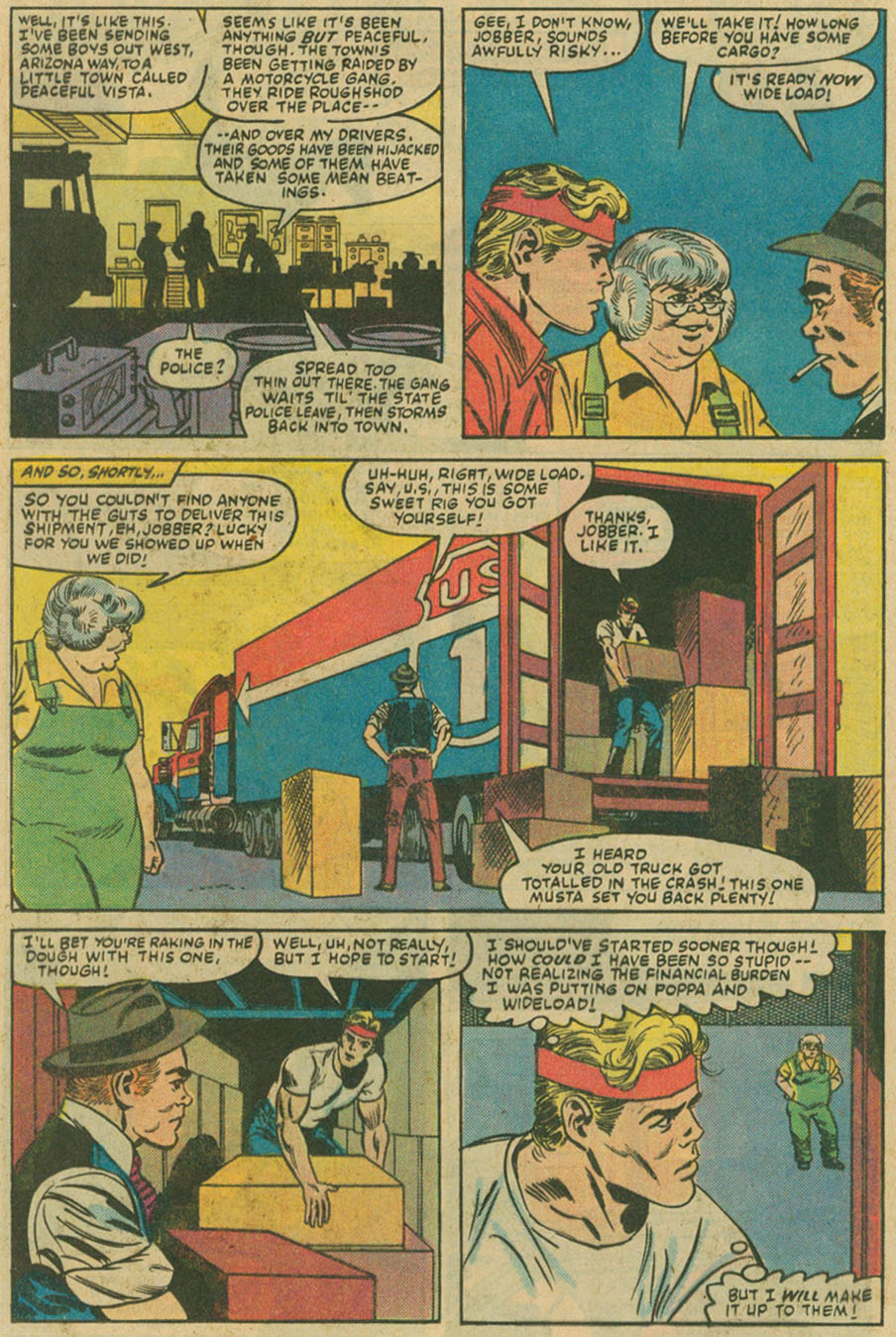 Read online U.S. 1 comic -  Issue #6 - 11