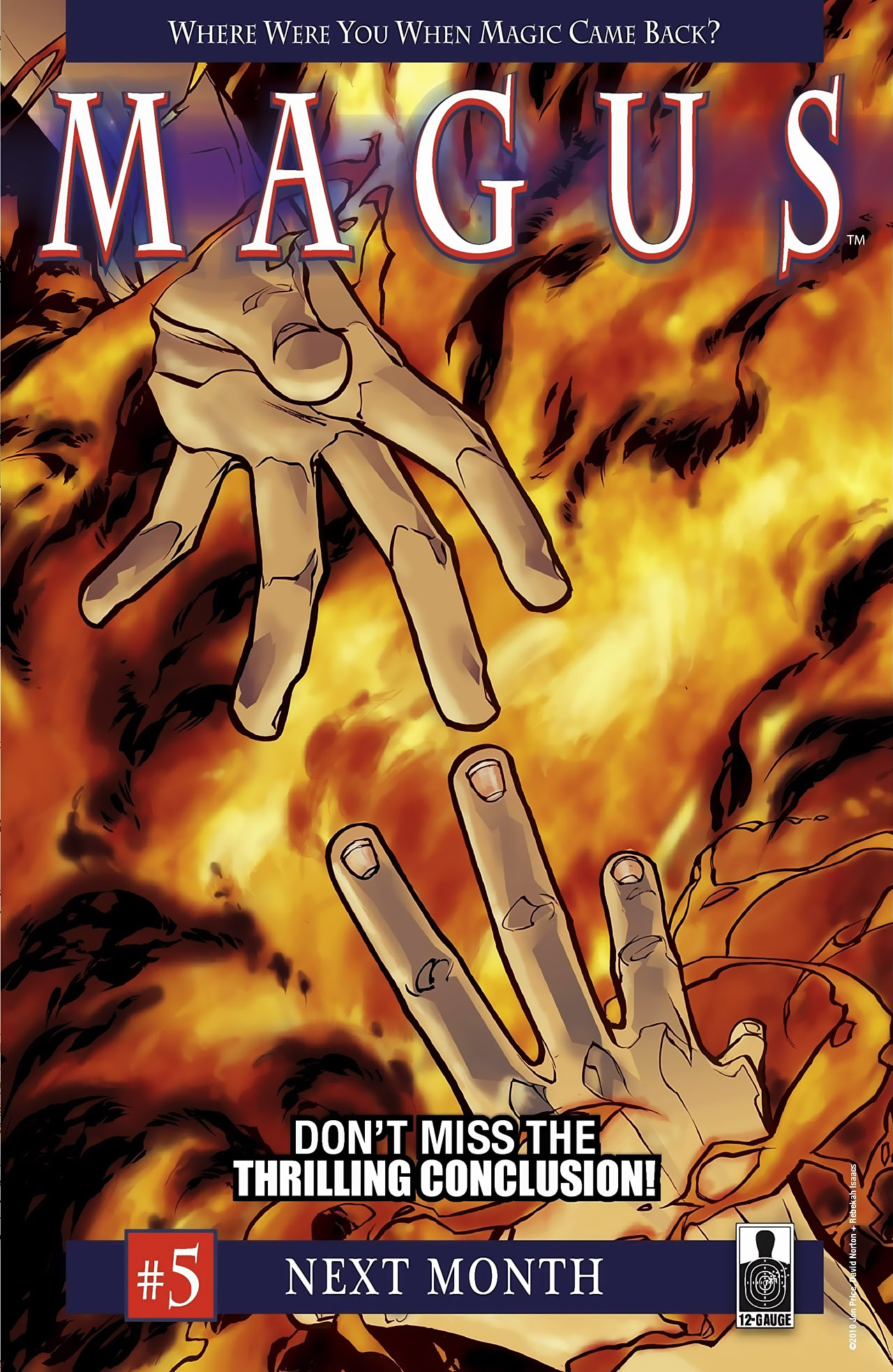 Read online Magus comic -  Issue #4 - 26