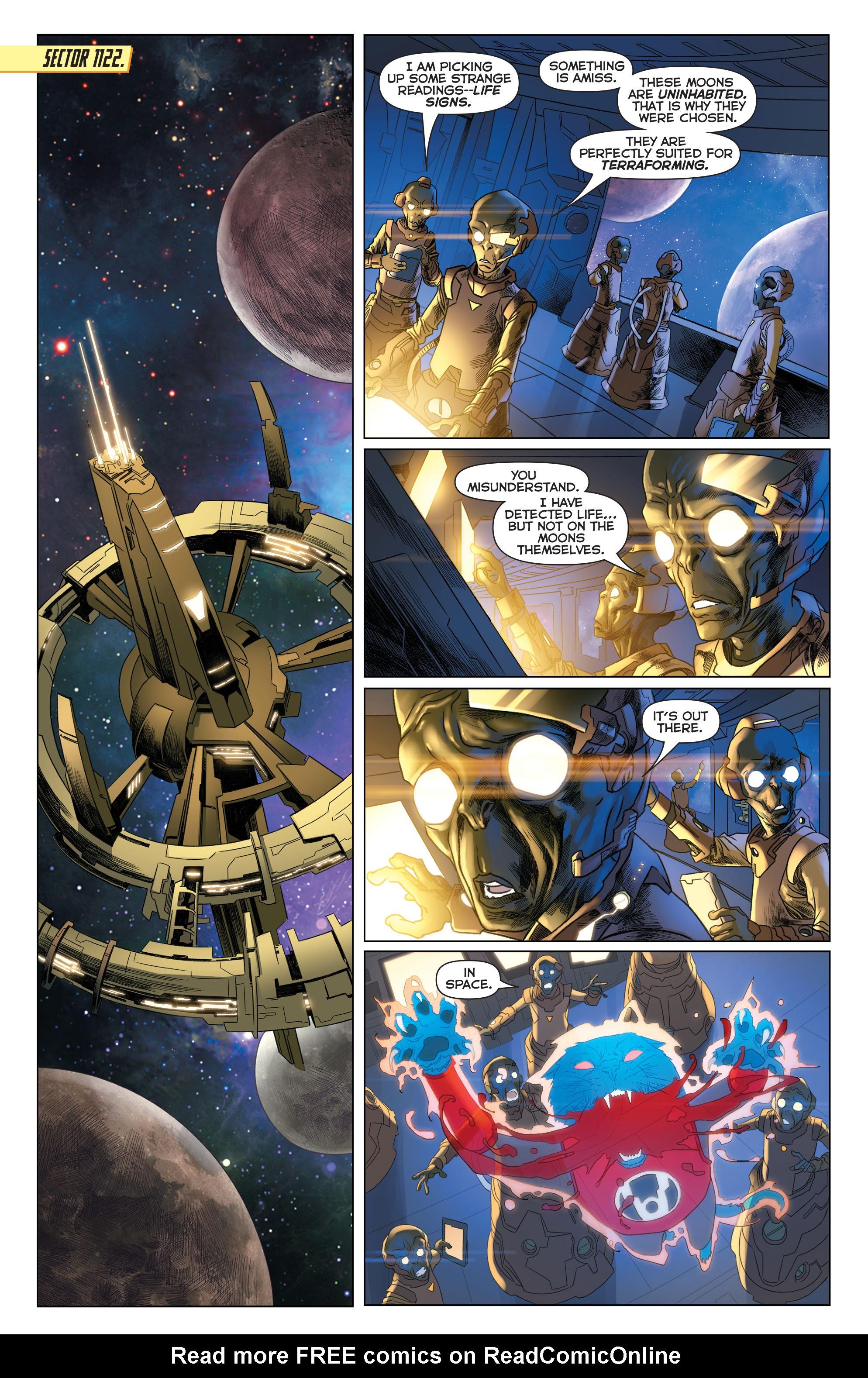 Read online Sinestro comic -  Issue #22 - 4