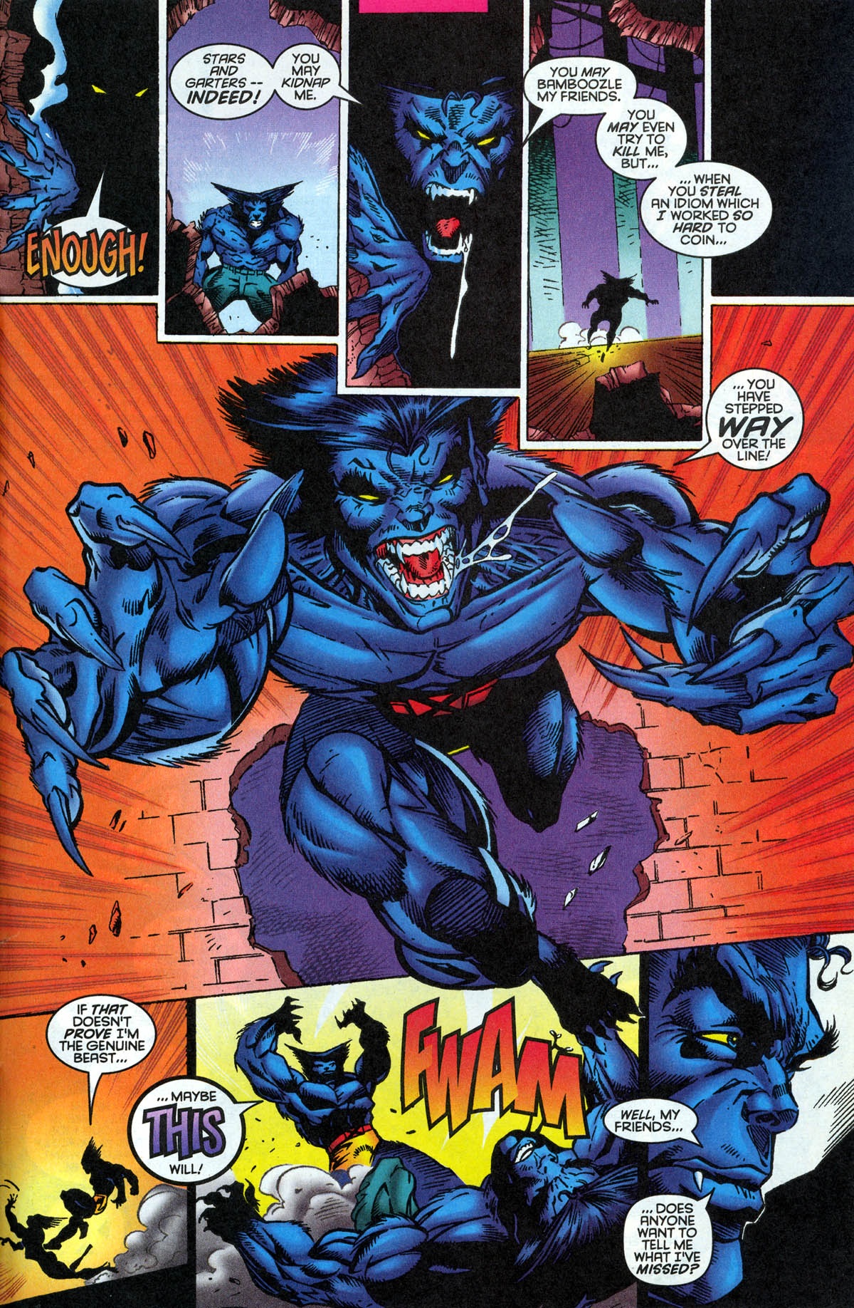 Read online X-Factor (1986) comic -  Issue #126 - 31
