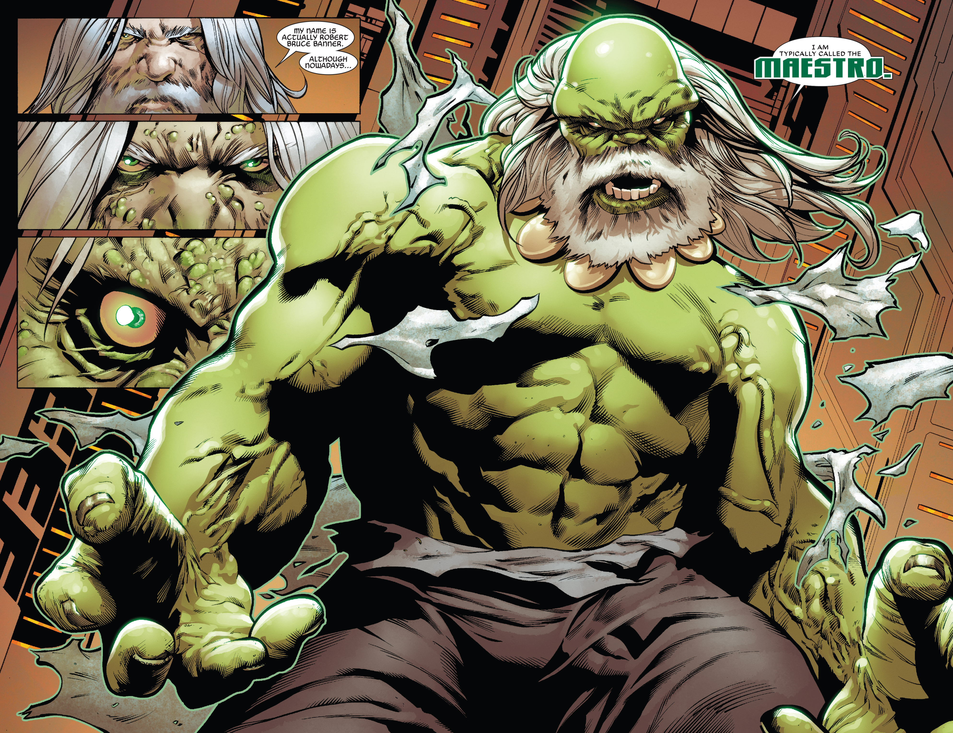 Read online Future Imperfect comic -  Issue #1 - 14