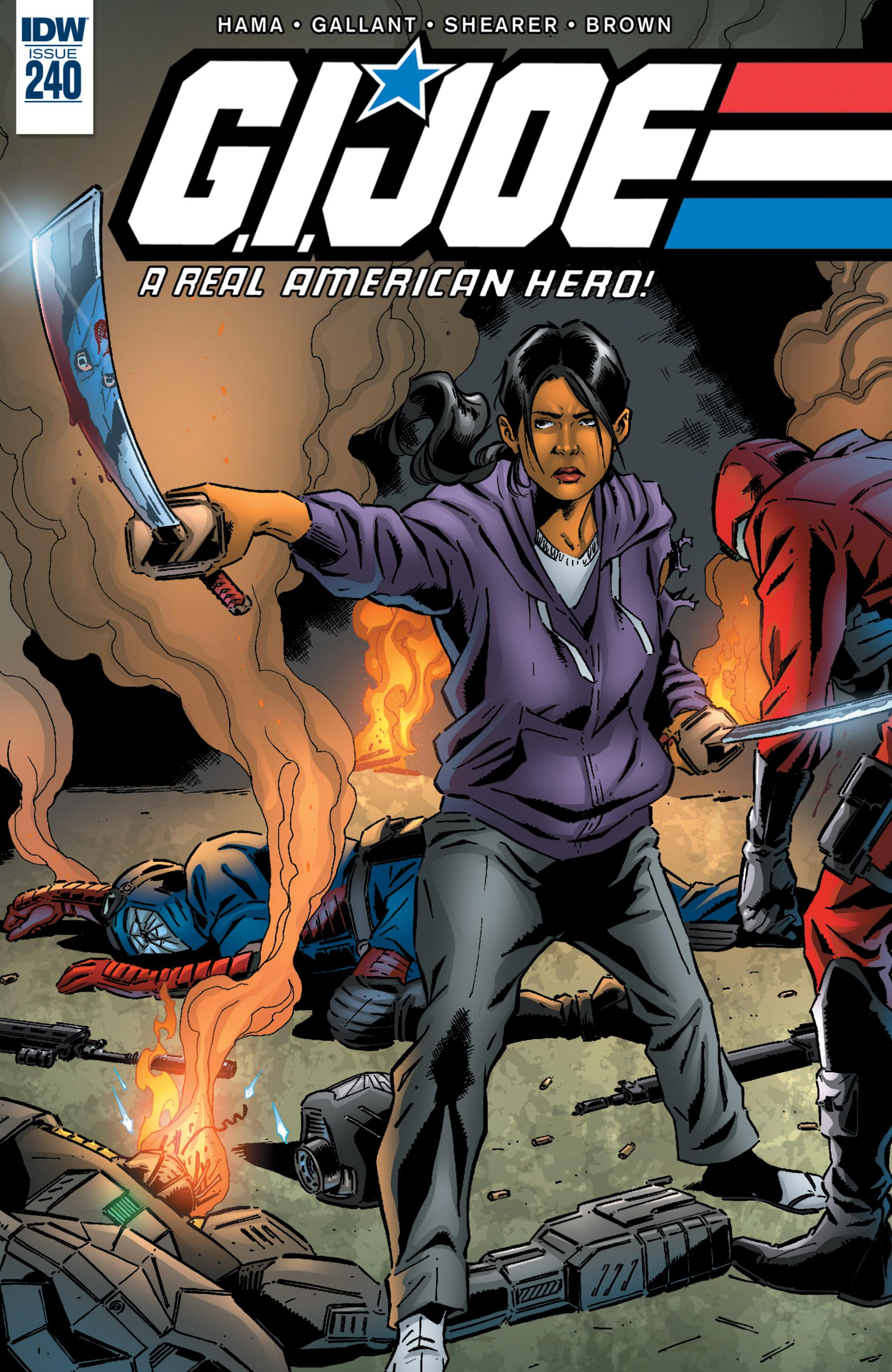 Read online G.I. Joe: A Real American Hero comic -  Issue #240 - 1