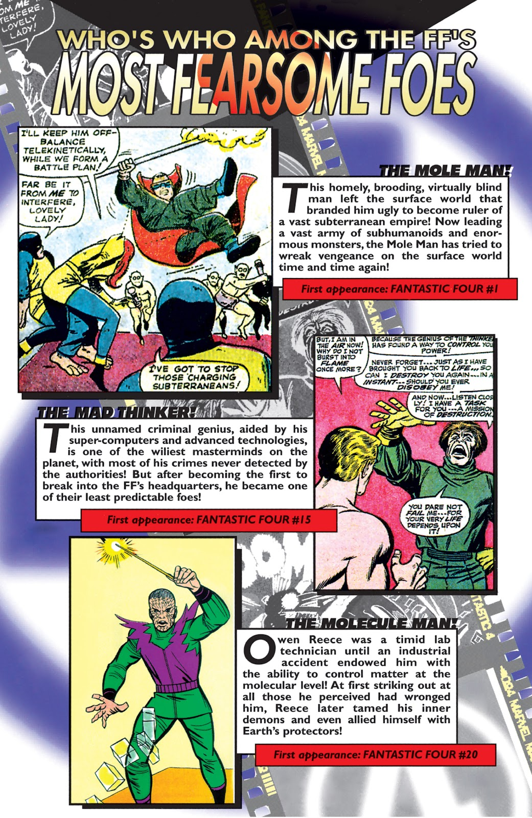 Read online Fantastic Four: The Legend comic -  Issue # Full - 19