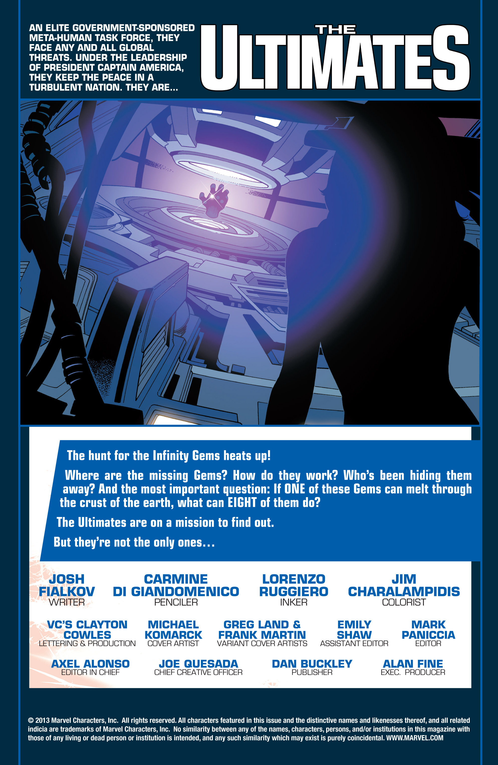 Read online Ultimate Comics Ultimates comic -  Issue #25 - 2
