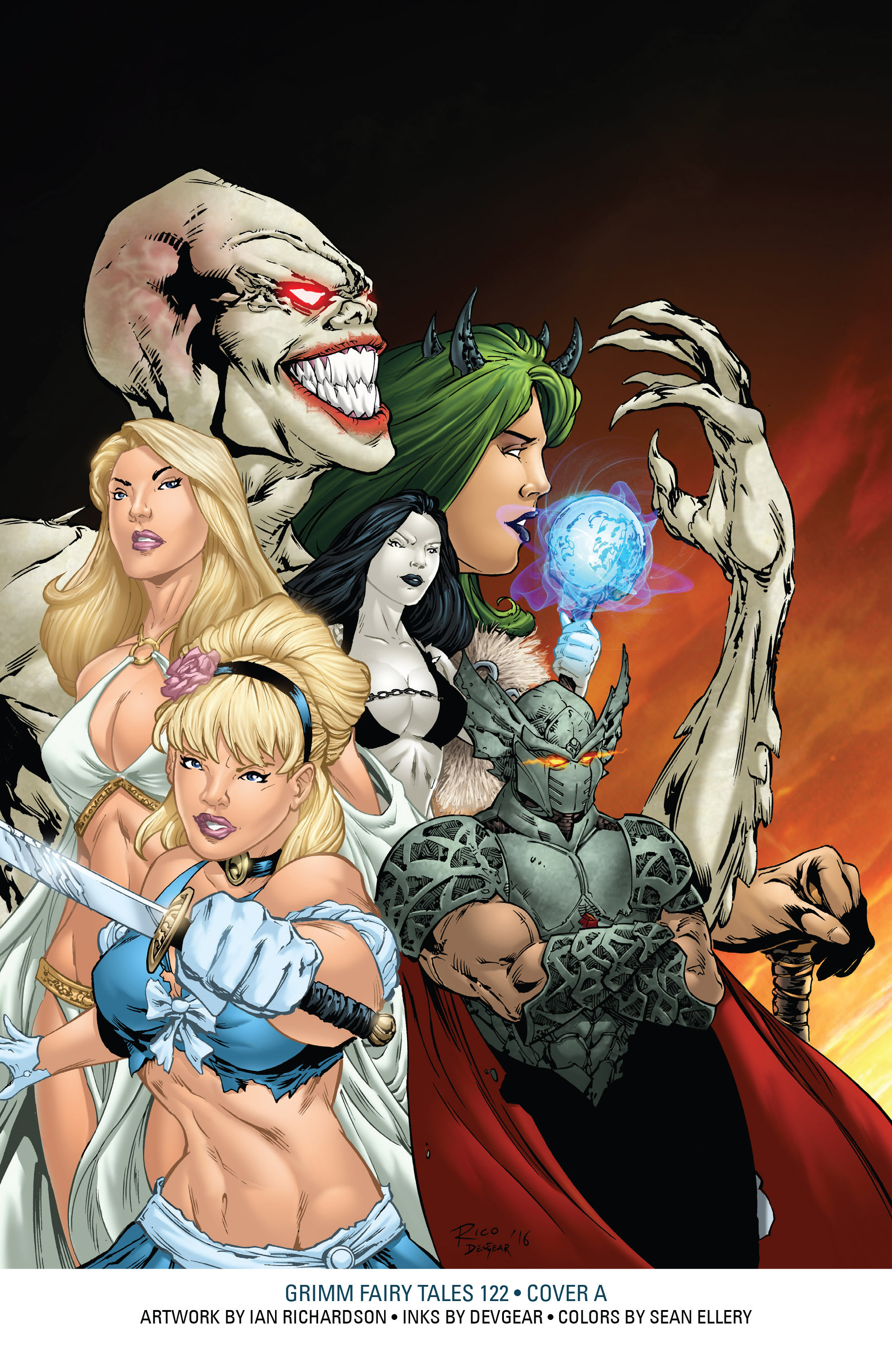 Read online Grimm Fairy Tales: Arcane Acre comic -  Issue # TPB 4 - 209