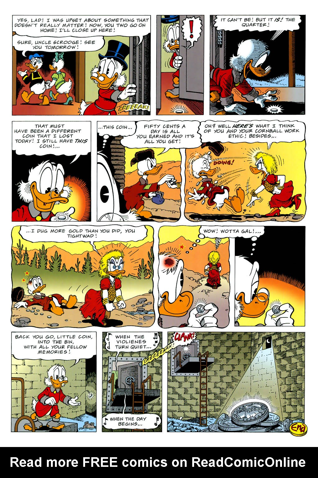 Read online Uncle Scrooge (1953) comic -  Issue #323 - 14