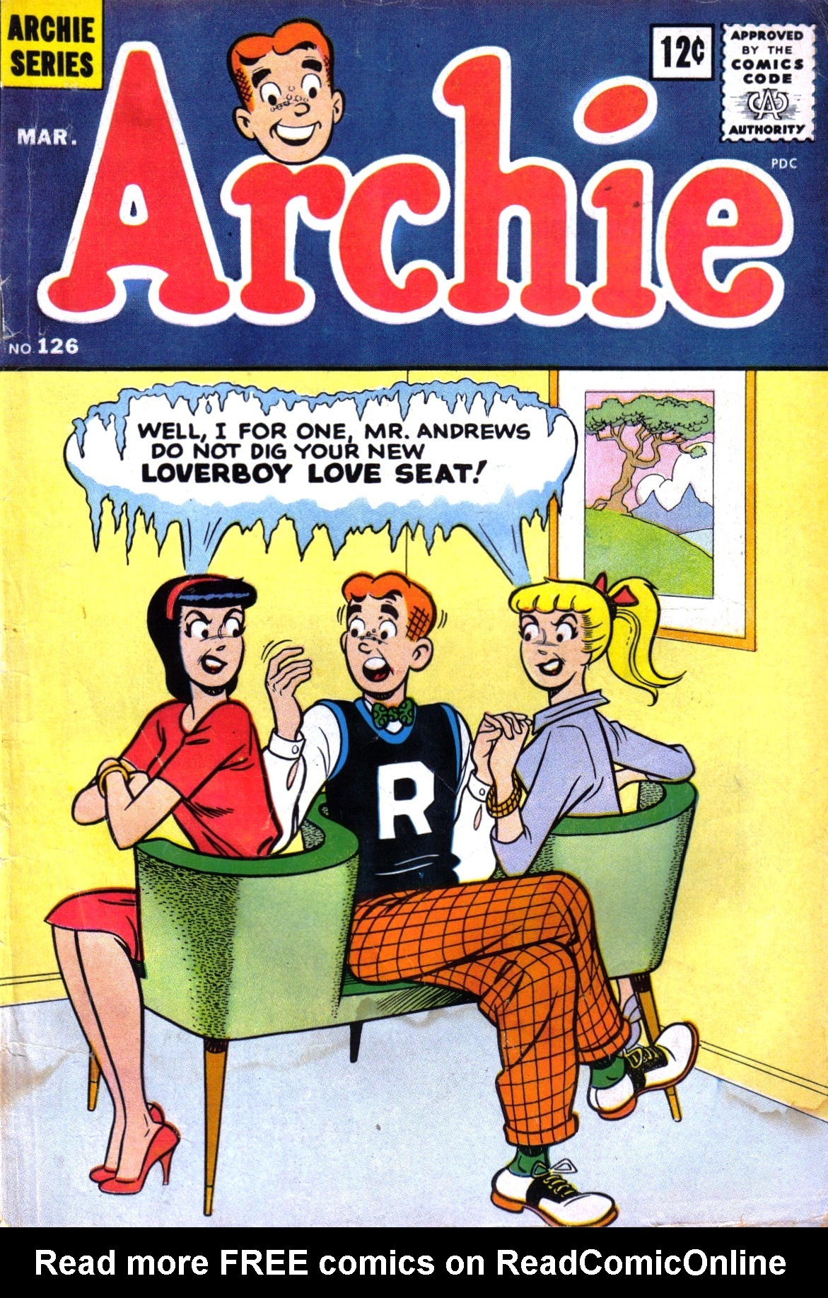 Read online Archie (1960) comic -  Issue #126 - 1