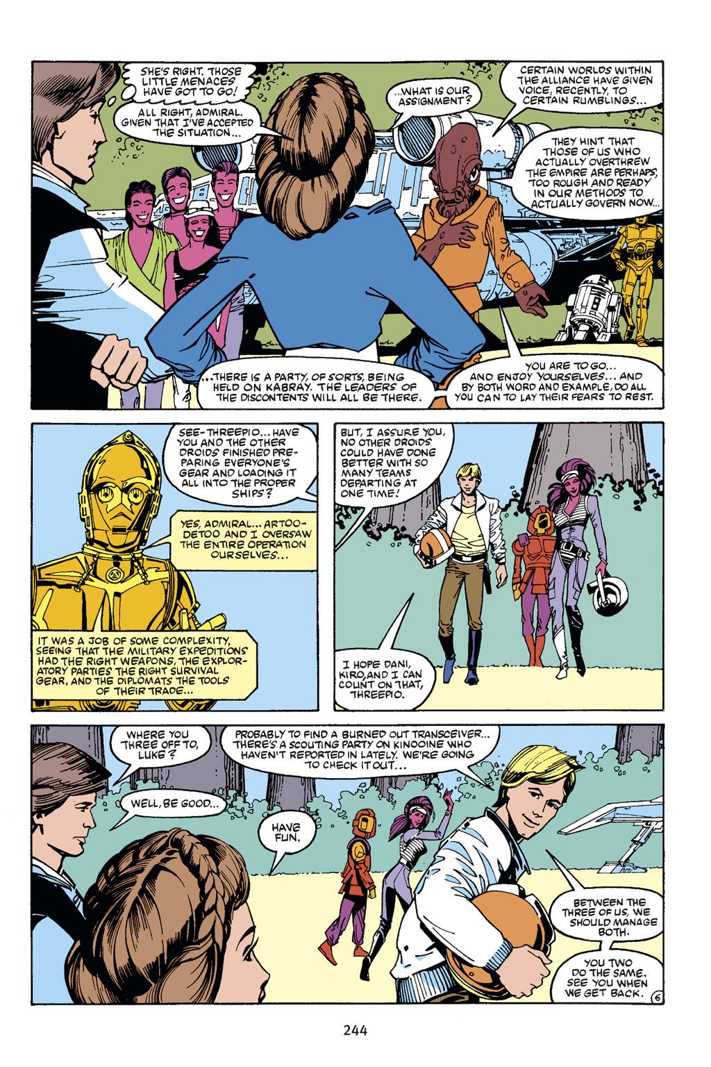 Read online Star Wars Omnibus comic -  Issue # Vol. 21 - 234