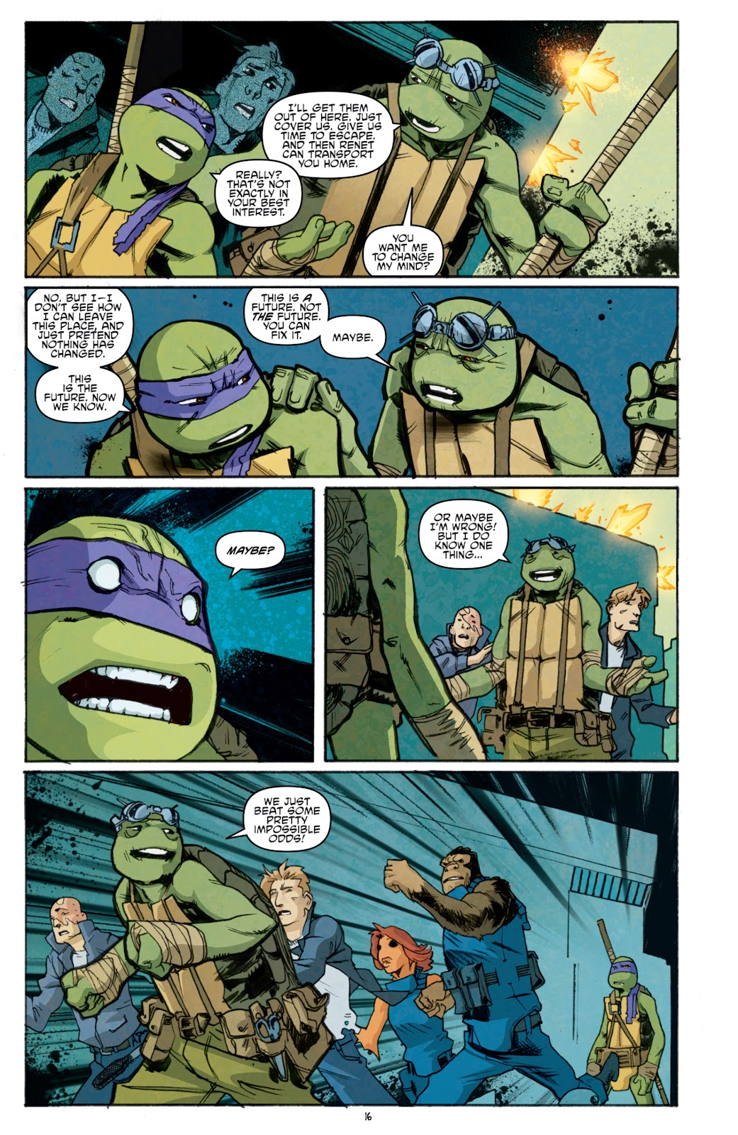Read online Teenage Mutant Ninja Turtles: The IDW Collection comic -  Issue # TPB 5 (Part 1) - 91