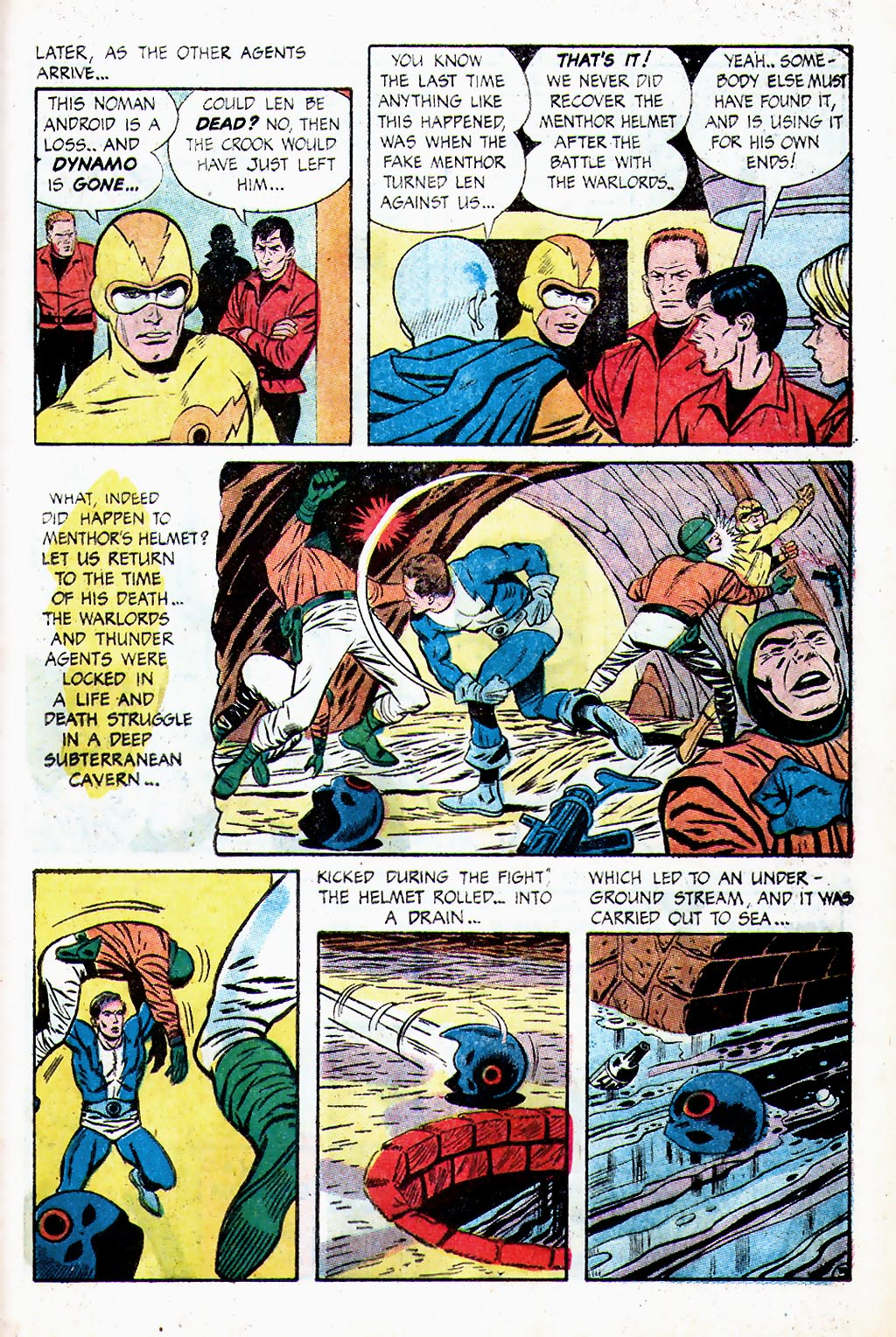 T.H.U.N.D.E.R. Agents (1965) issue 13 - Page 38
