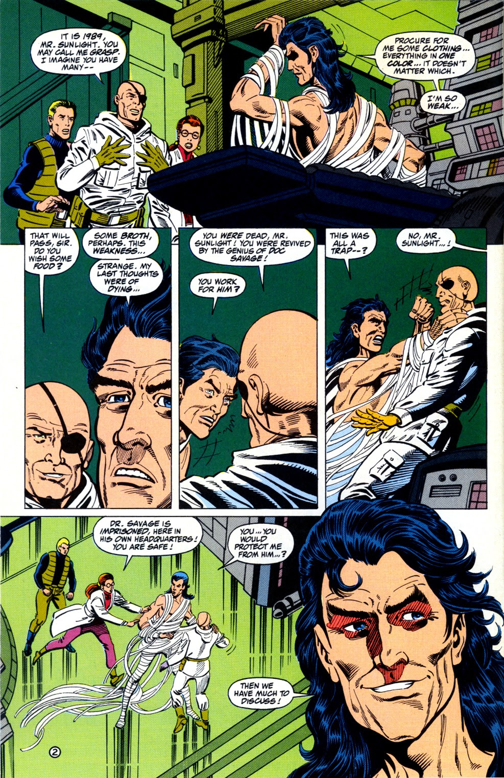 Doc Savage (1988) issue 12 - Page 4
