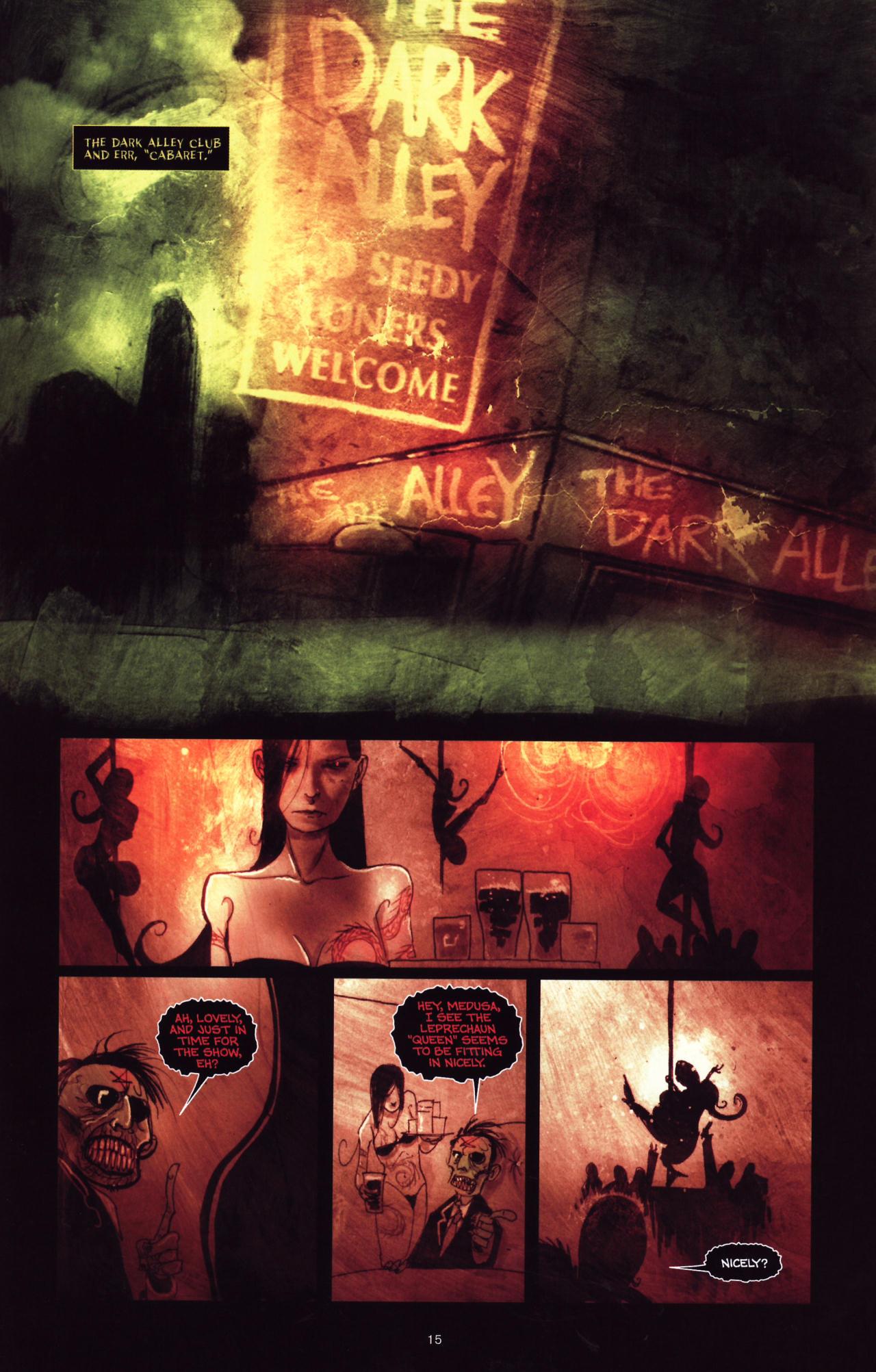 Read online Wormwood: Gentleman Corpse comic -  Issue #8 - 16
