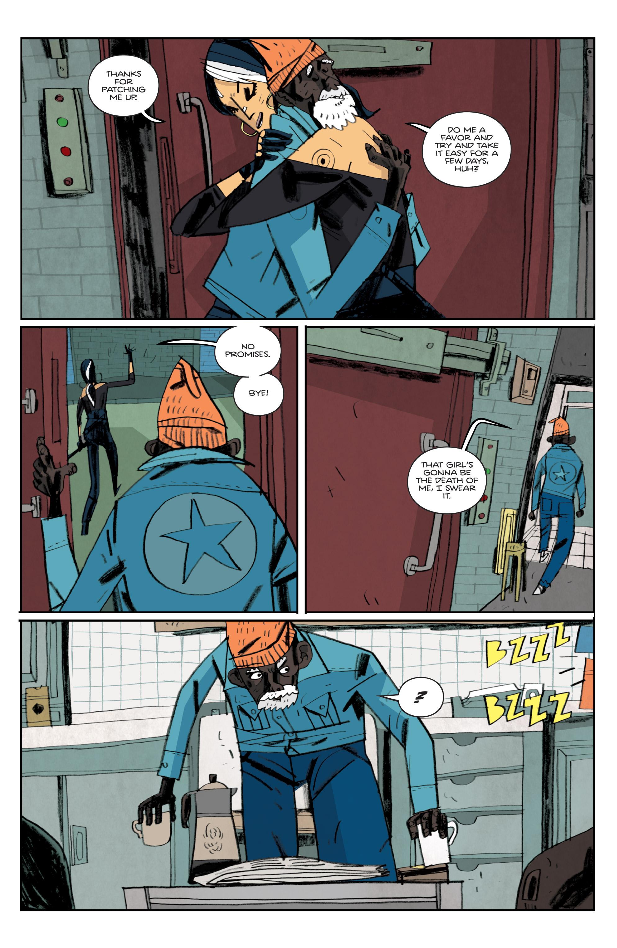 Read online Helena Crash comic -  Issue #3 - 17