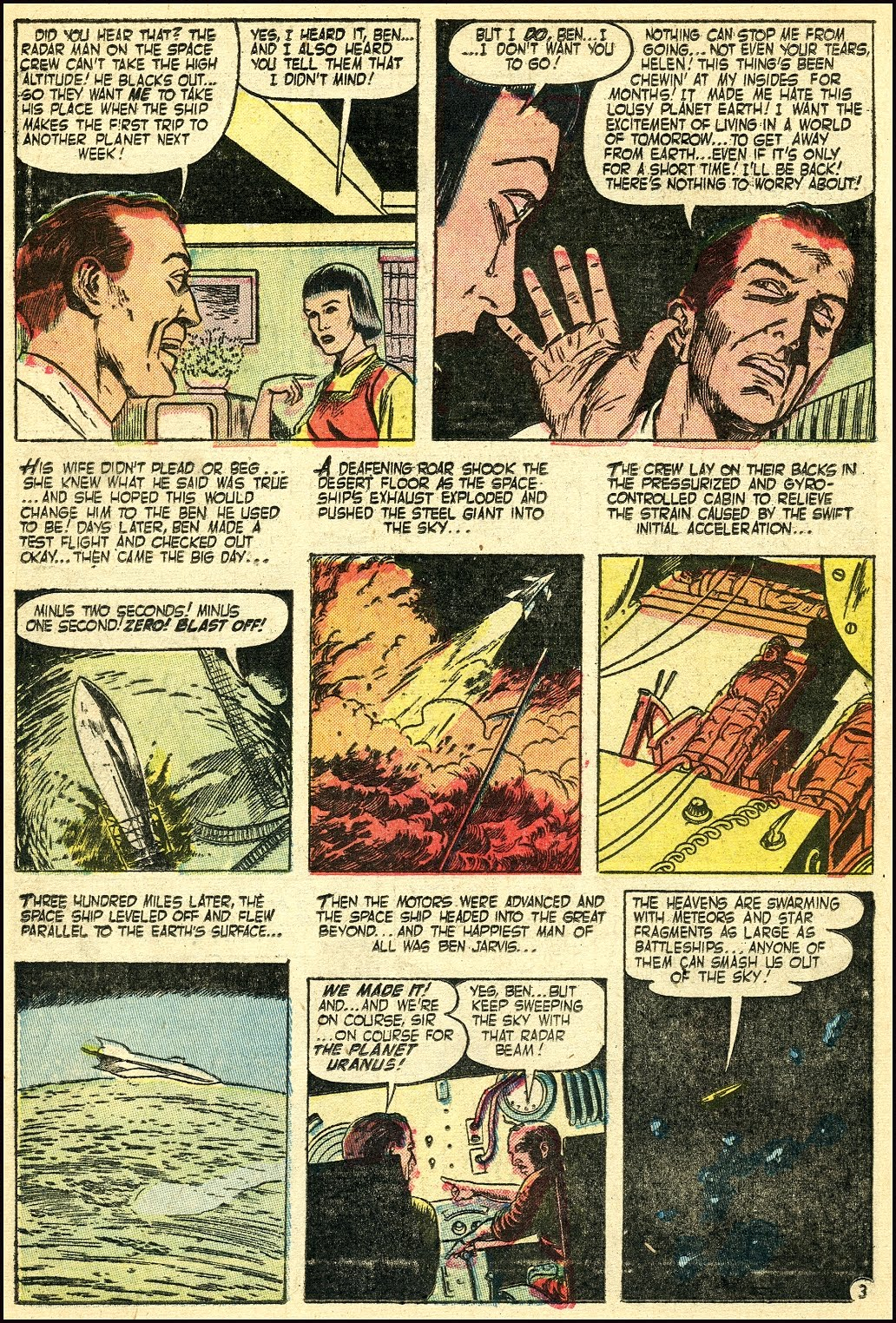 Read online Adventures into Weird Worlds comic -  Issue #25 - 19