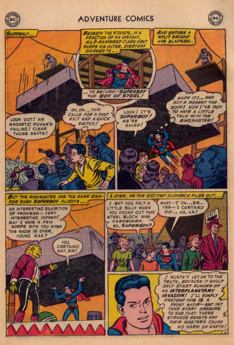 Read online Adventure Comics (1938) comic -  Issue #198 - 6