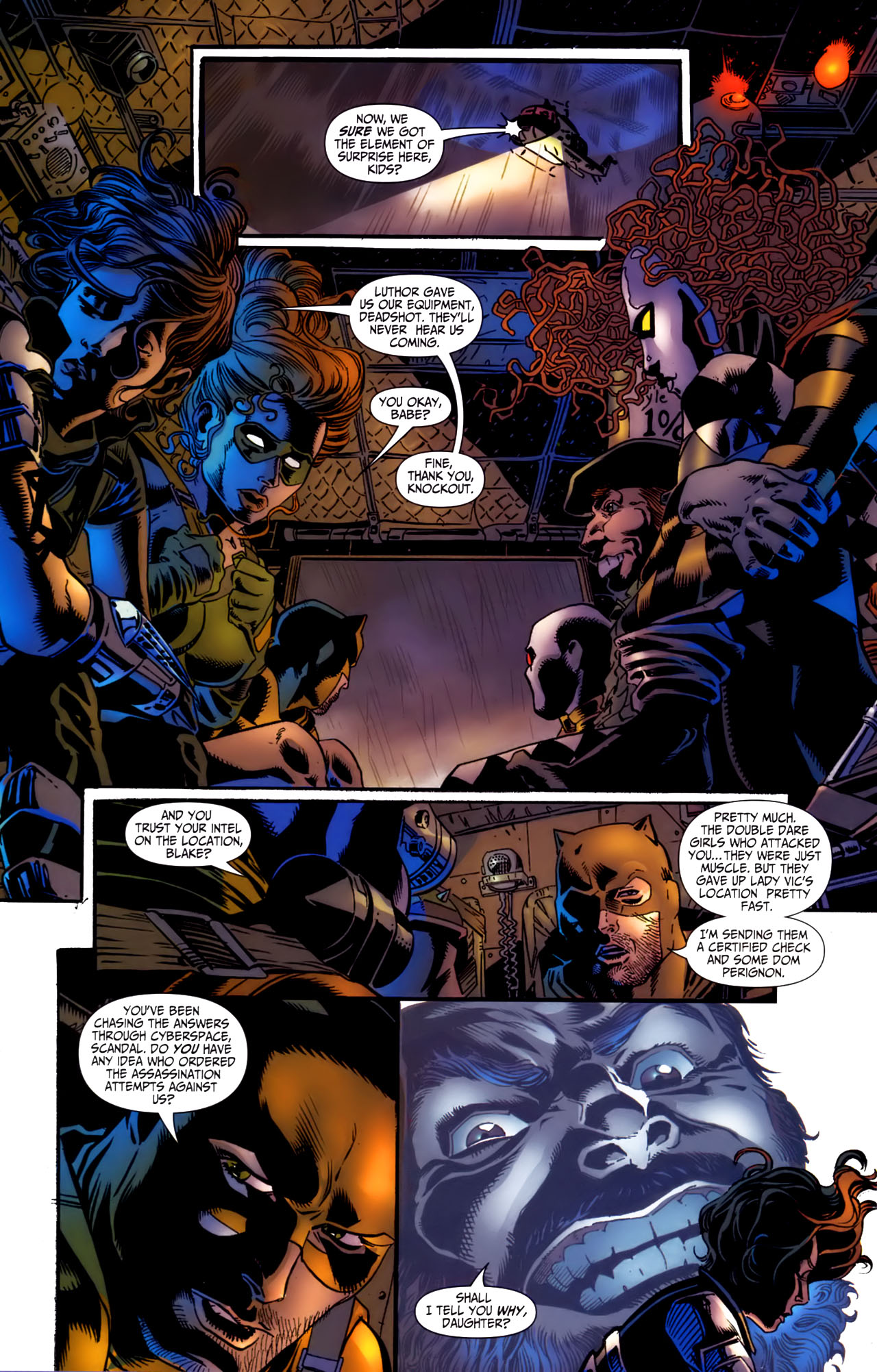 Read online Secret Six (2006) comic -  Issue #3 - 14