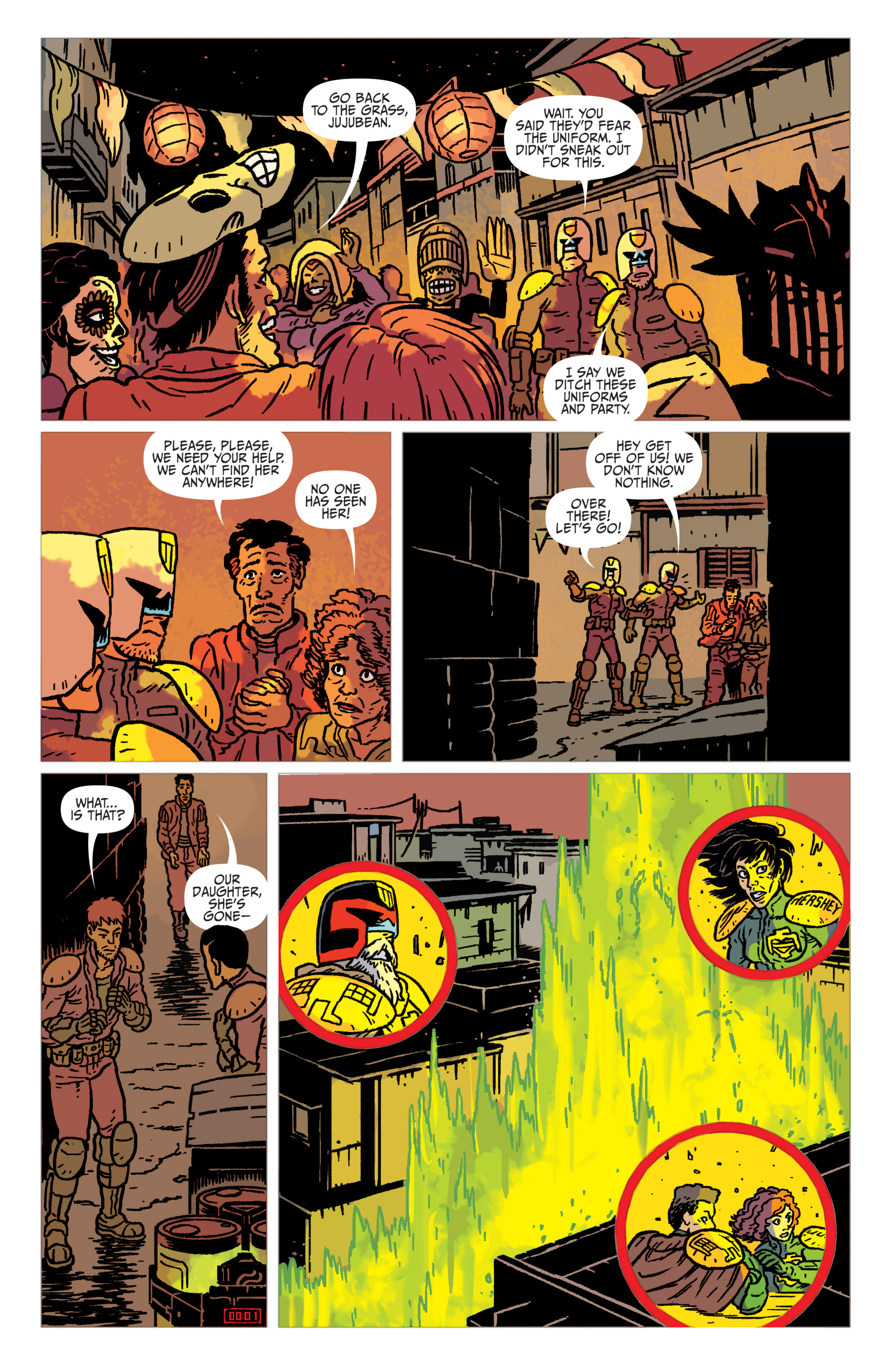 Read online Judge Dredd: The Blessed Earth comic -  Issue #2 - 19