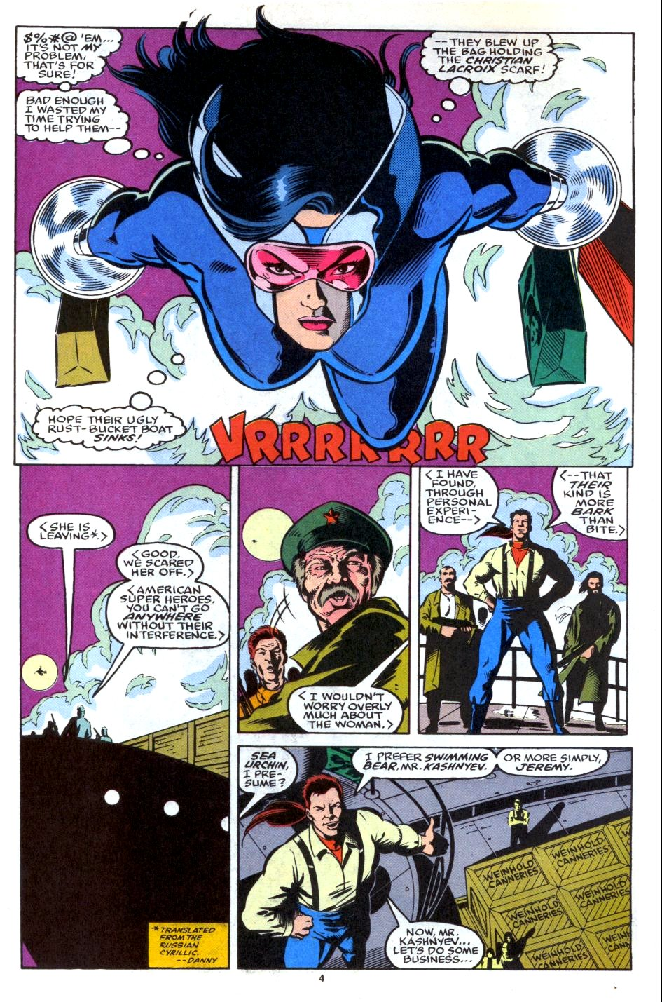 The New Warriors Issue #28 #32 - English 5