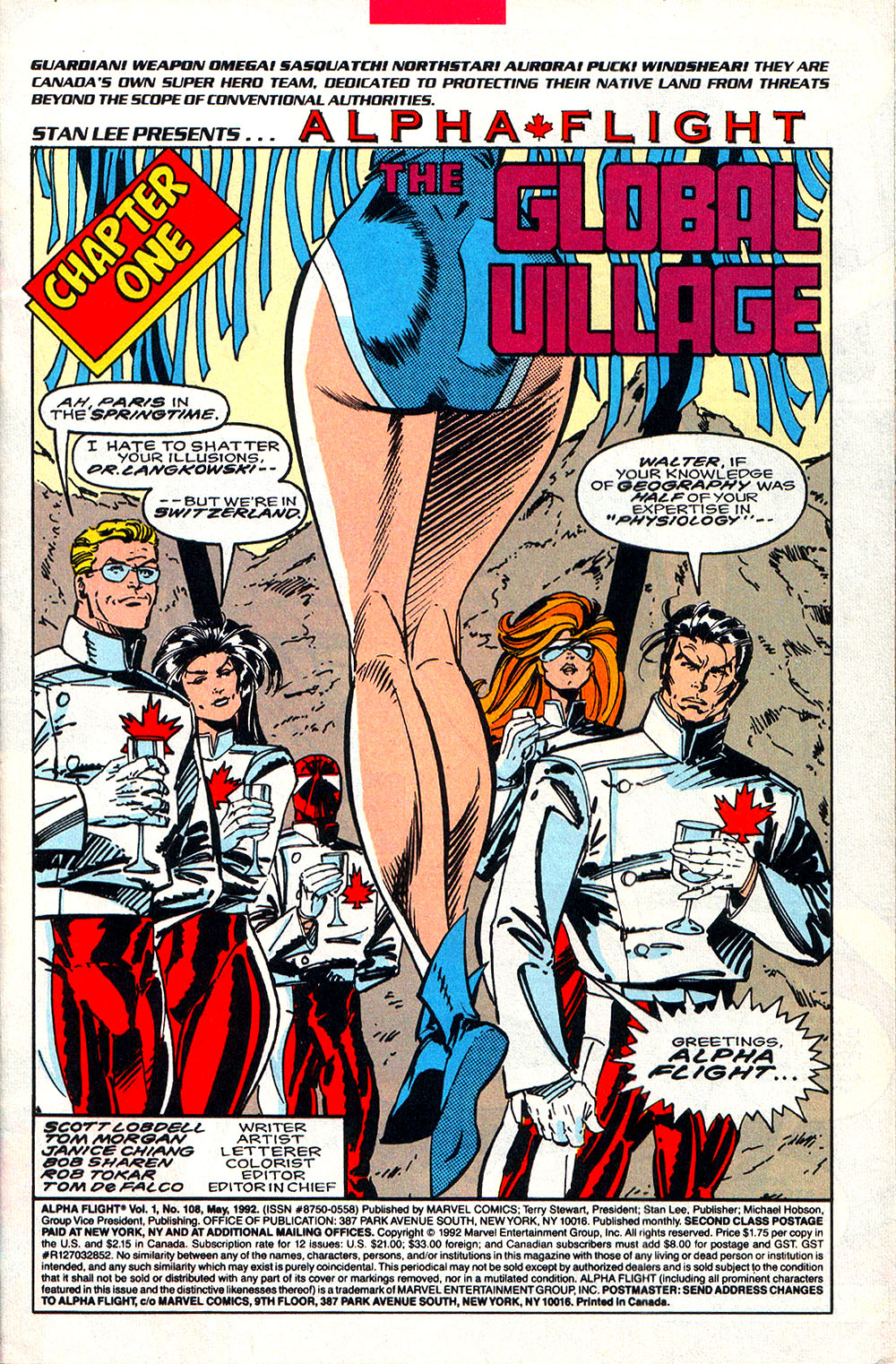 Read online Alpha Flight (1983) comic -  Issue #108 - 2
