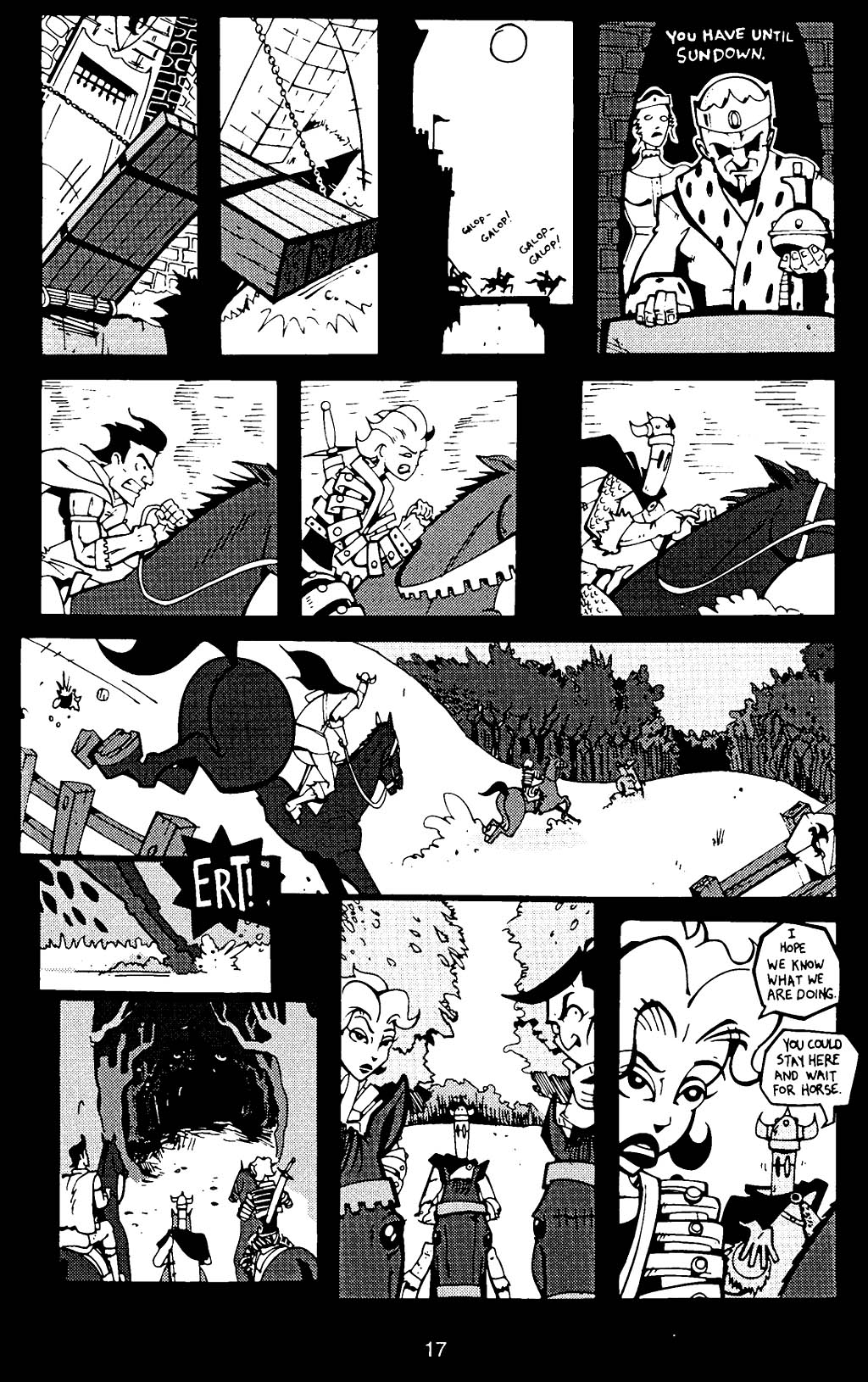 Read online Scud: The Disposable Assassin (1994) comic -  Issue #17 - 19