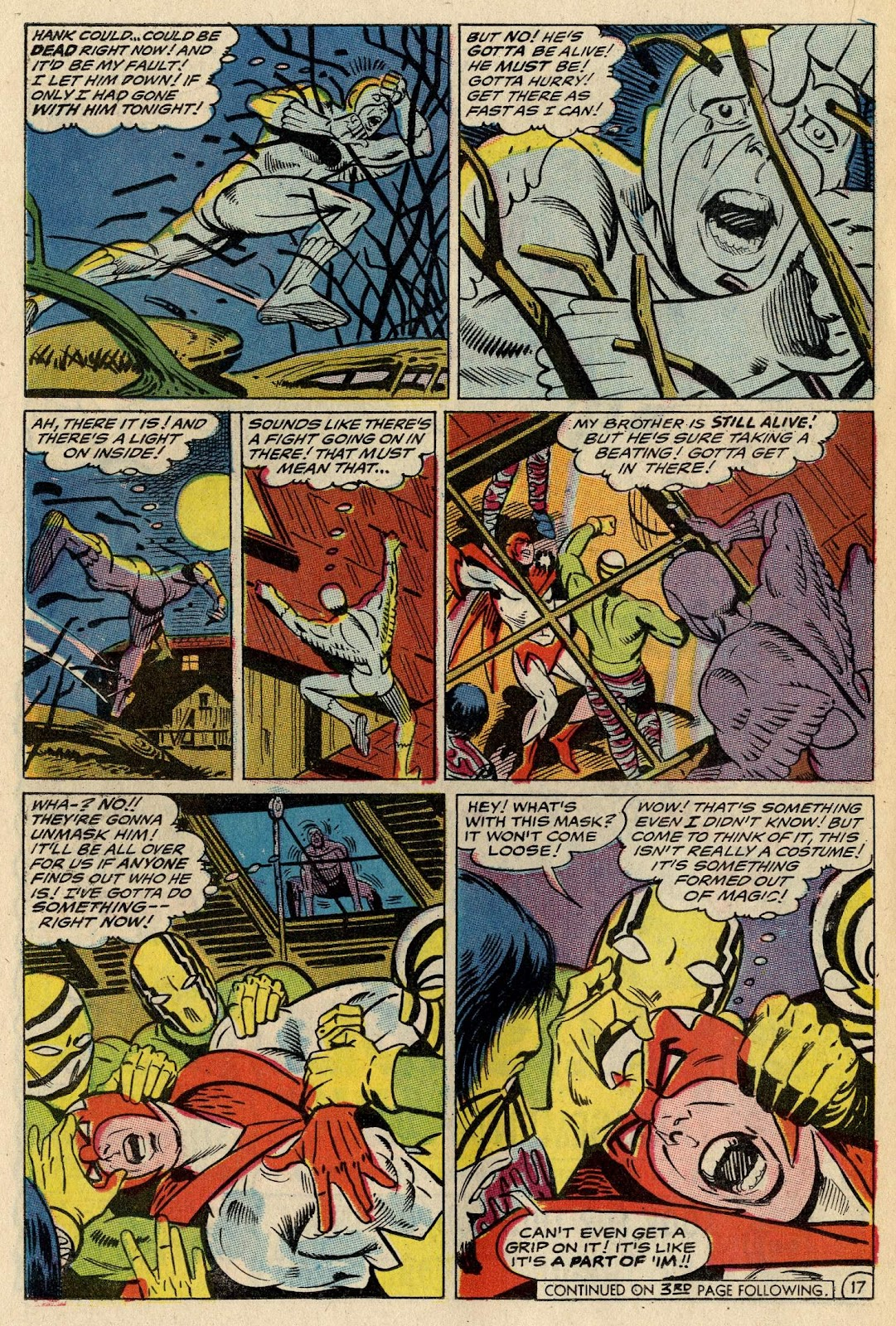 The Hawk and the Dove issue 1 - Page 21