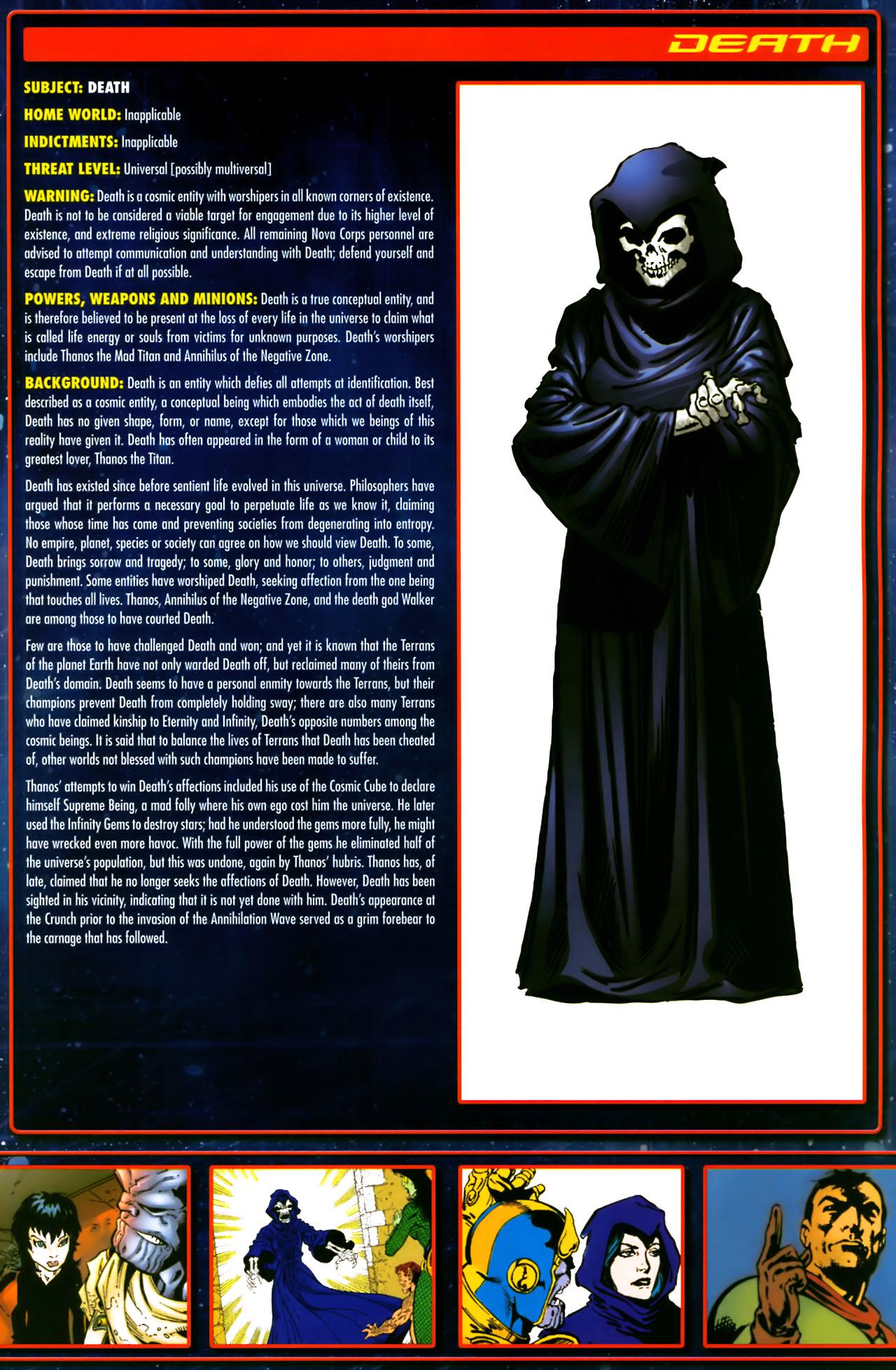 Read online Annihilation:  The  Nova Corps Files comic -  Issue #Annihilation:  The  Nova Corps Files Full - 9