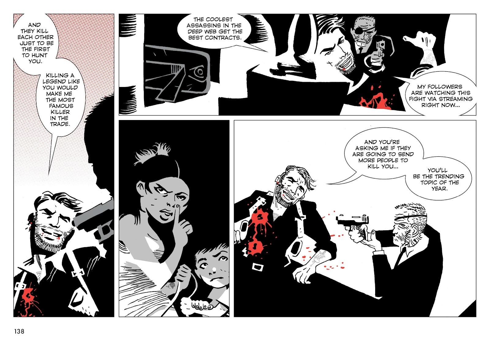 Read online Polar comic -  Issue # TPB The Kaiser Falls (Part 2) - 40