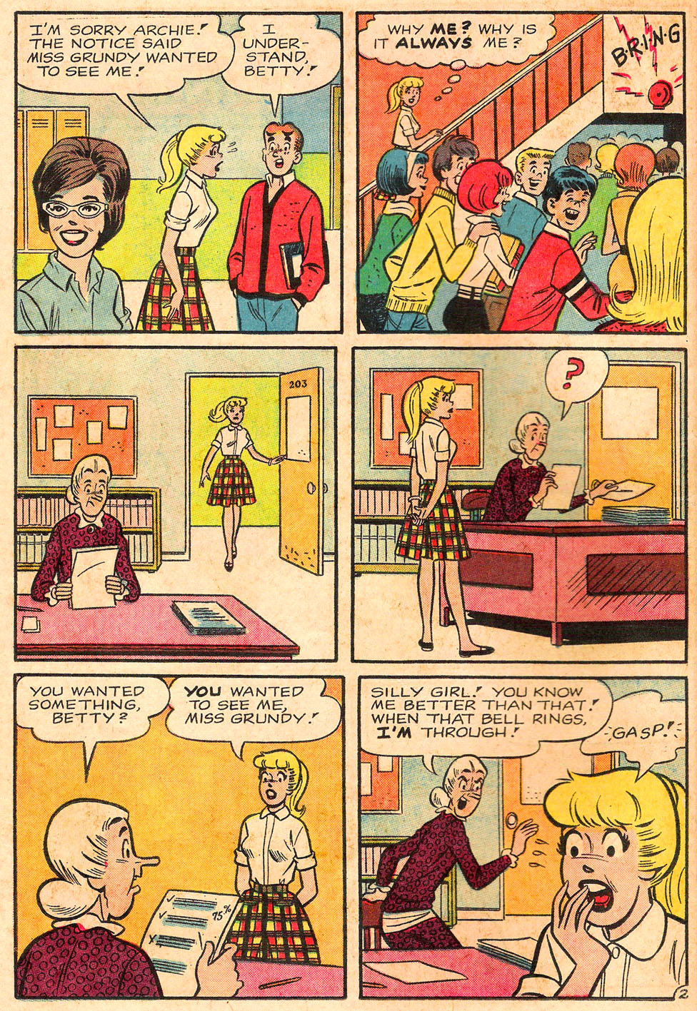 Read online Archie's Girls Betty and Veronica comic -  Issue #116 - 14