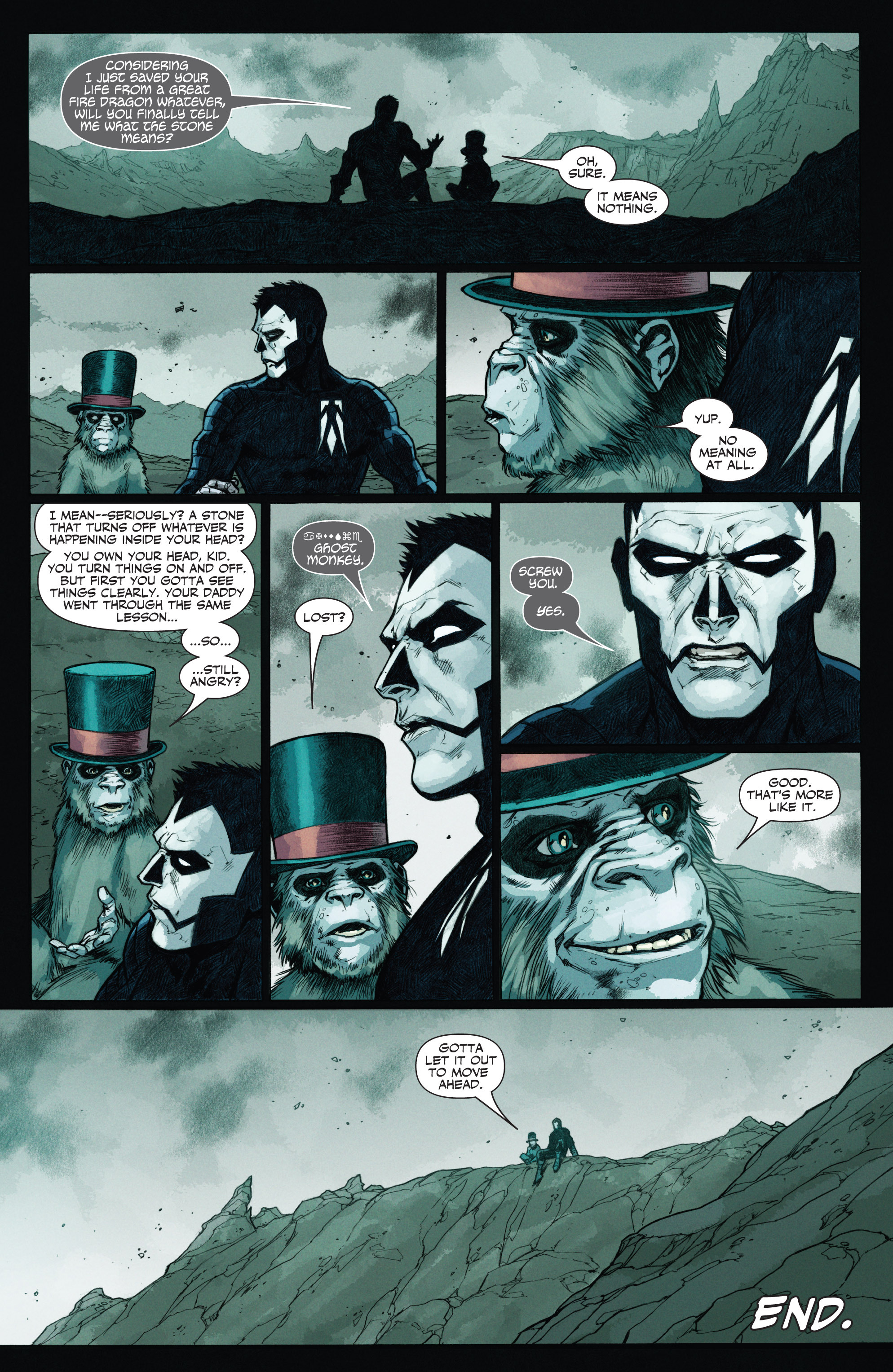 Read online Shadowman (2012) comic -  Issue #12 - 10