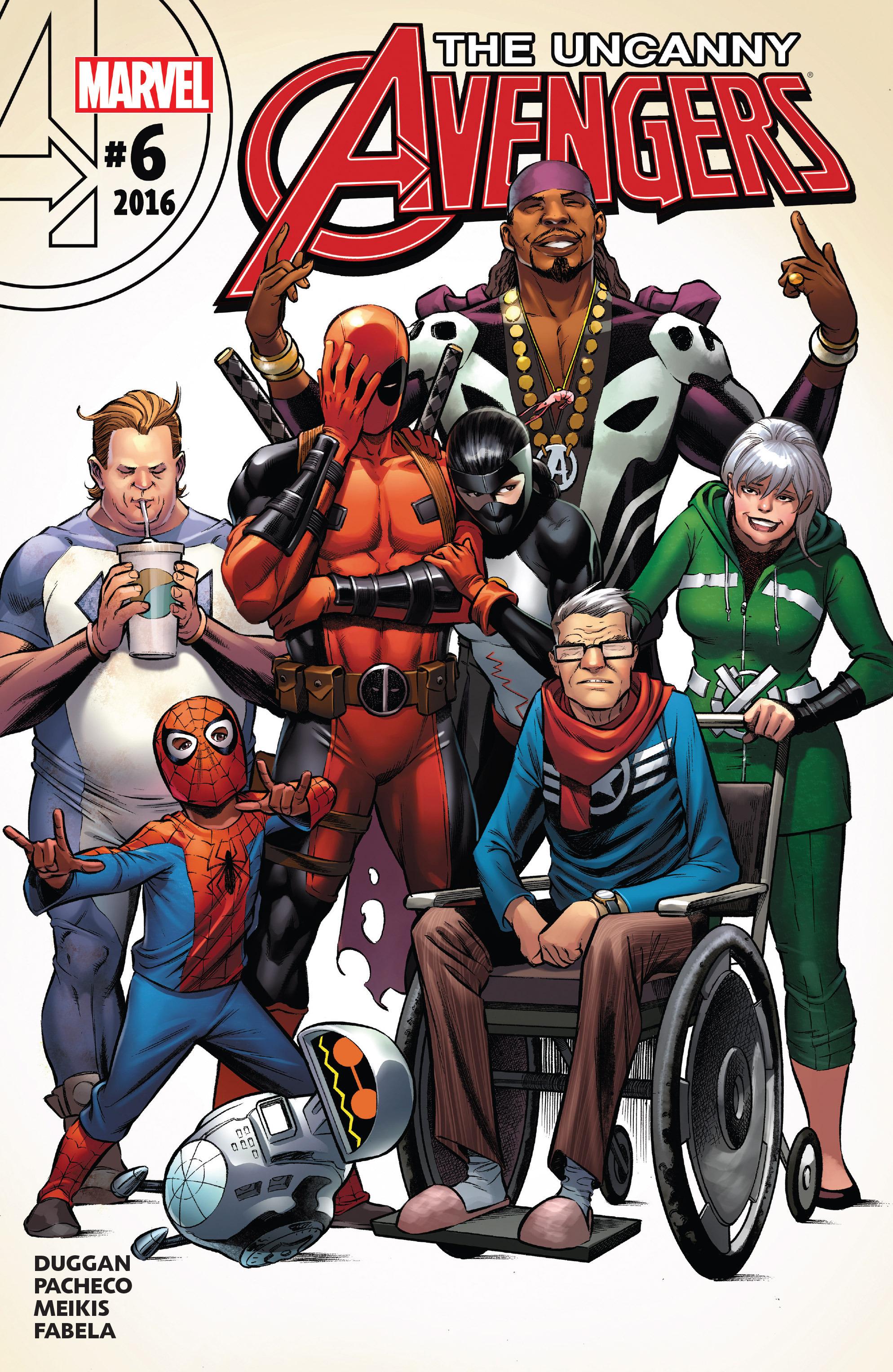 Read online Uncanny Avengers [II] comic -  Issue #6 - 1