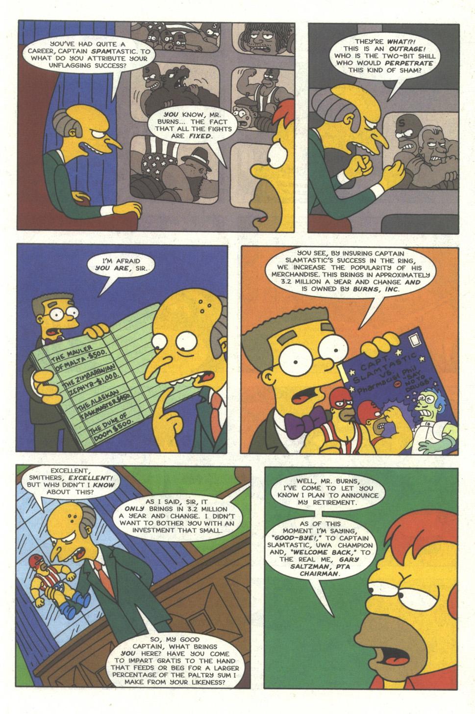 Read online Simpsons Comics comic -  Issue #29 - 6