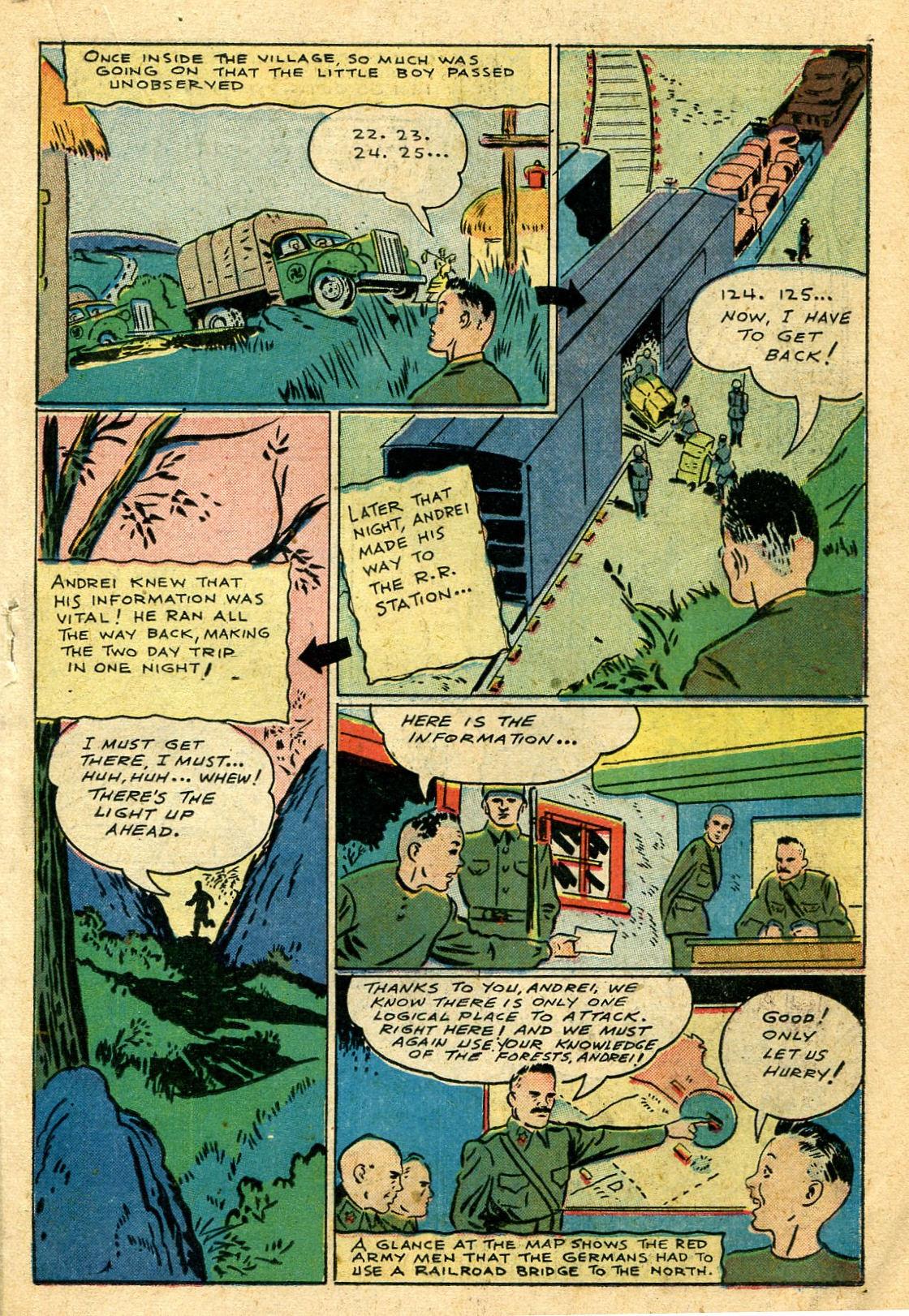 Read online Shadow Comics comic -  Issue #44 - 34