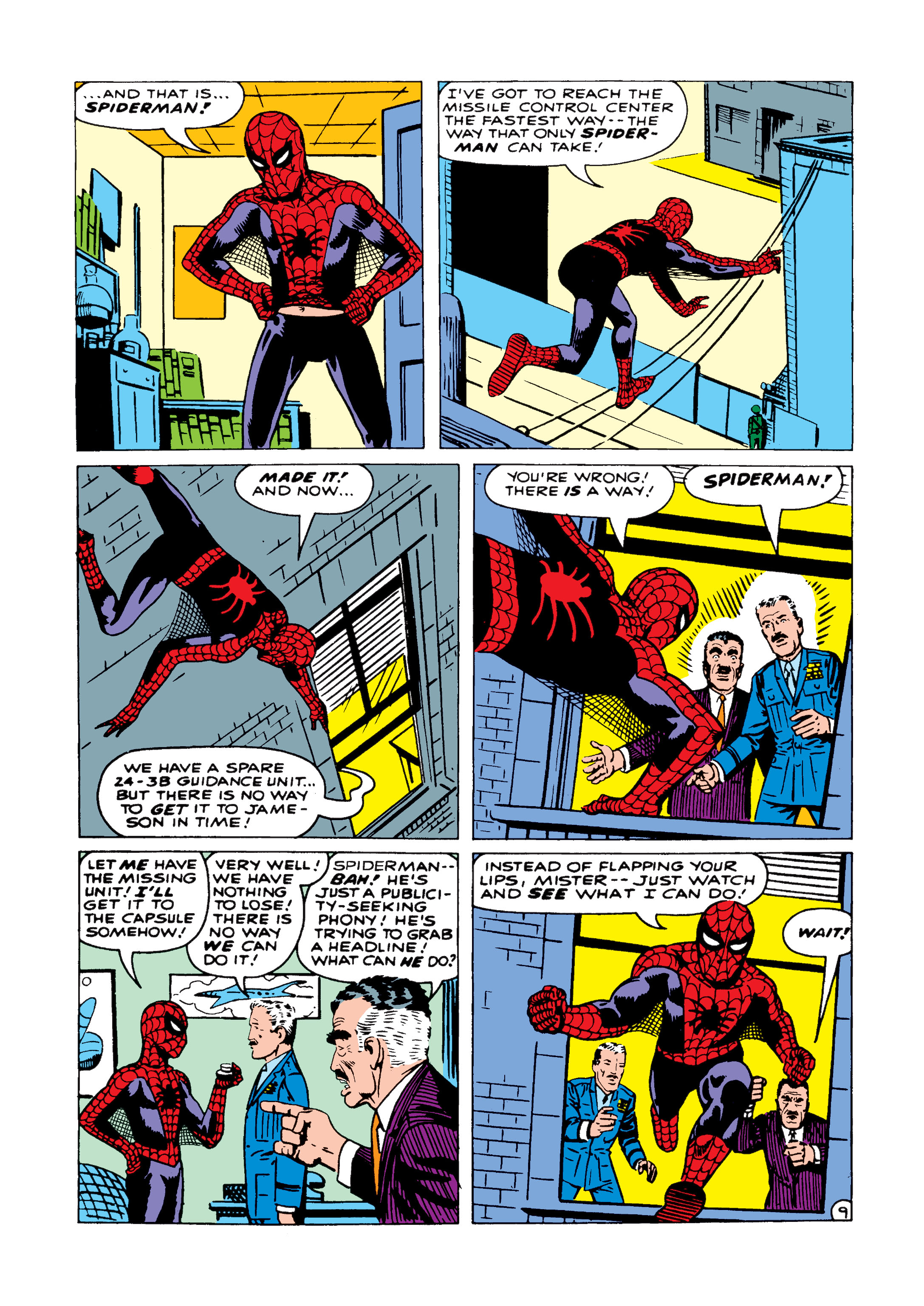 The Amazing Spider-Man (1963) 1 Page 9