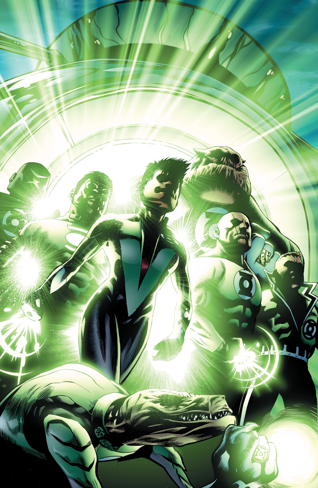 Read online Green Lantern by Geoff Johns comic -  Issue # TPB 1 (Part 3) - 73