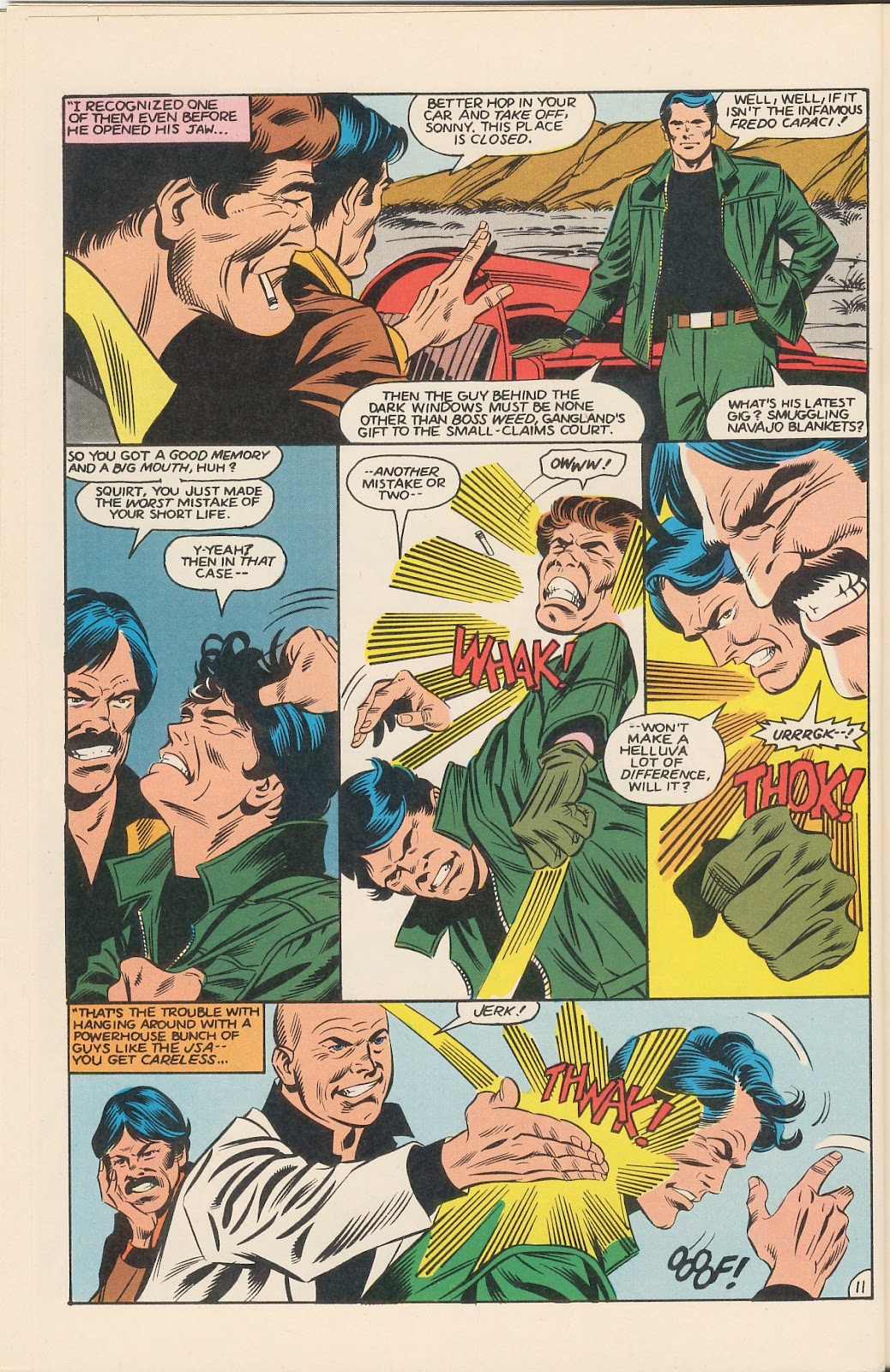 Infinity Inc. (1984) issue 11 - Page 16