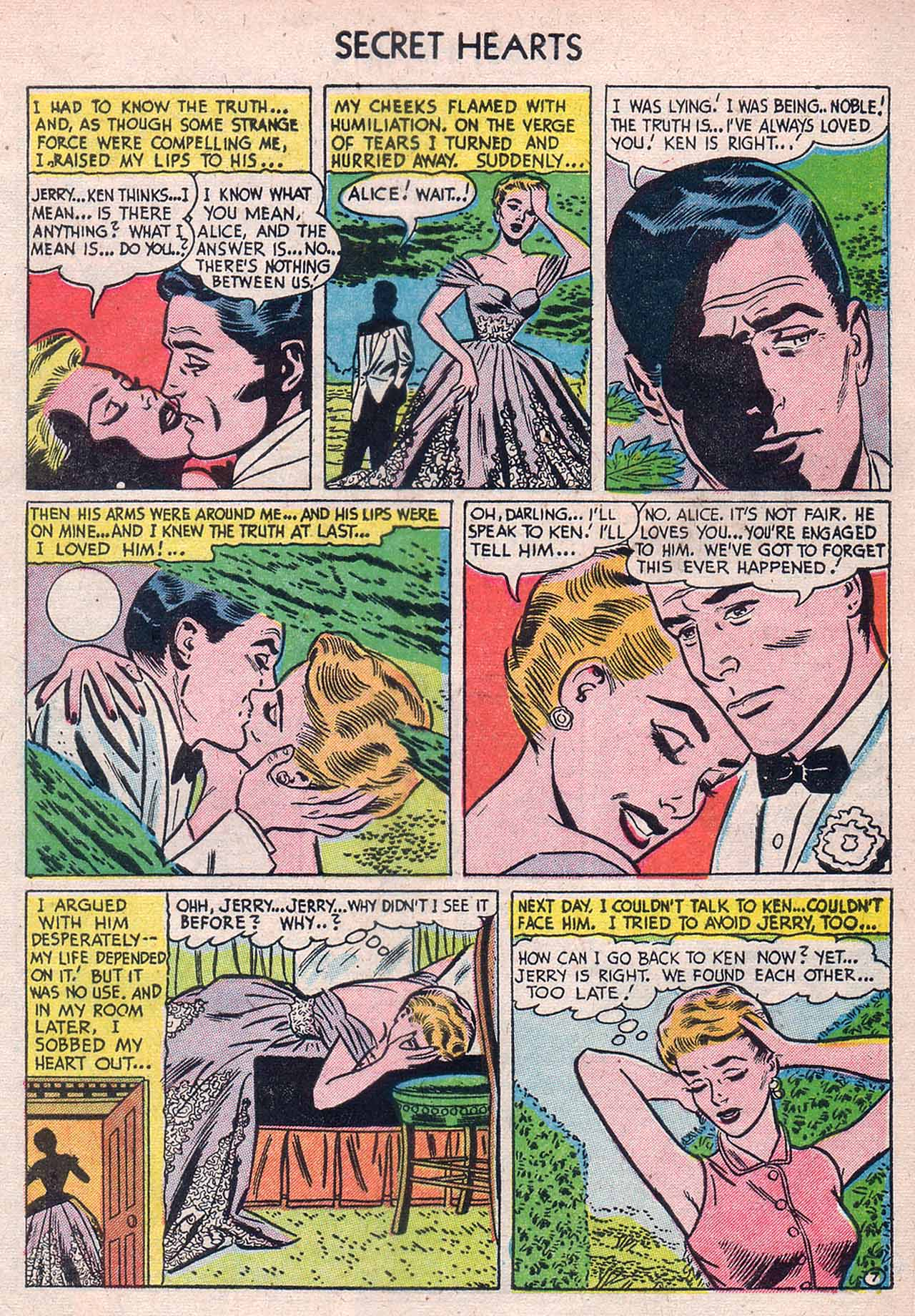 Read online Secret Hearts comic -  Issue #12 - 33