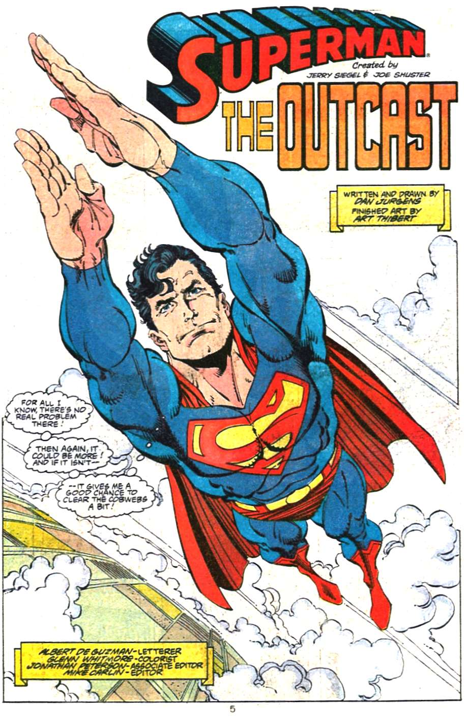 Read online Adventures of Superman (1987) comic -  Issue #468 - 6