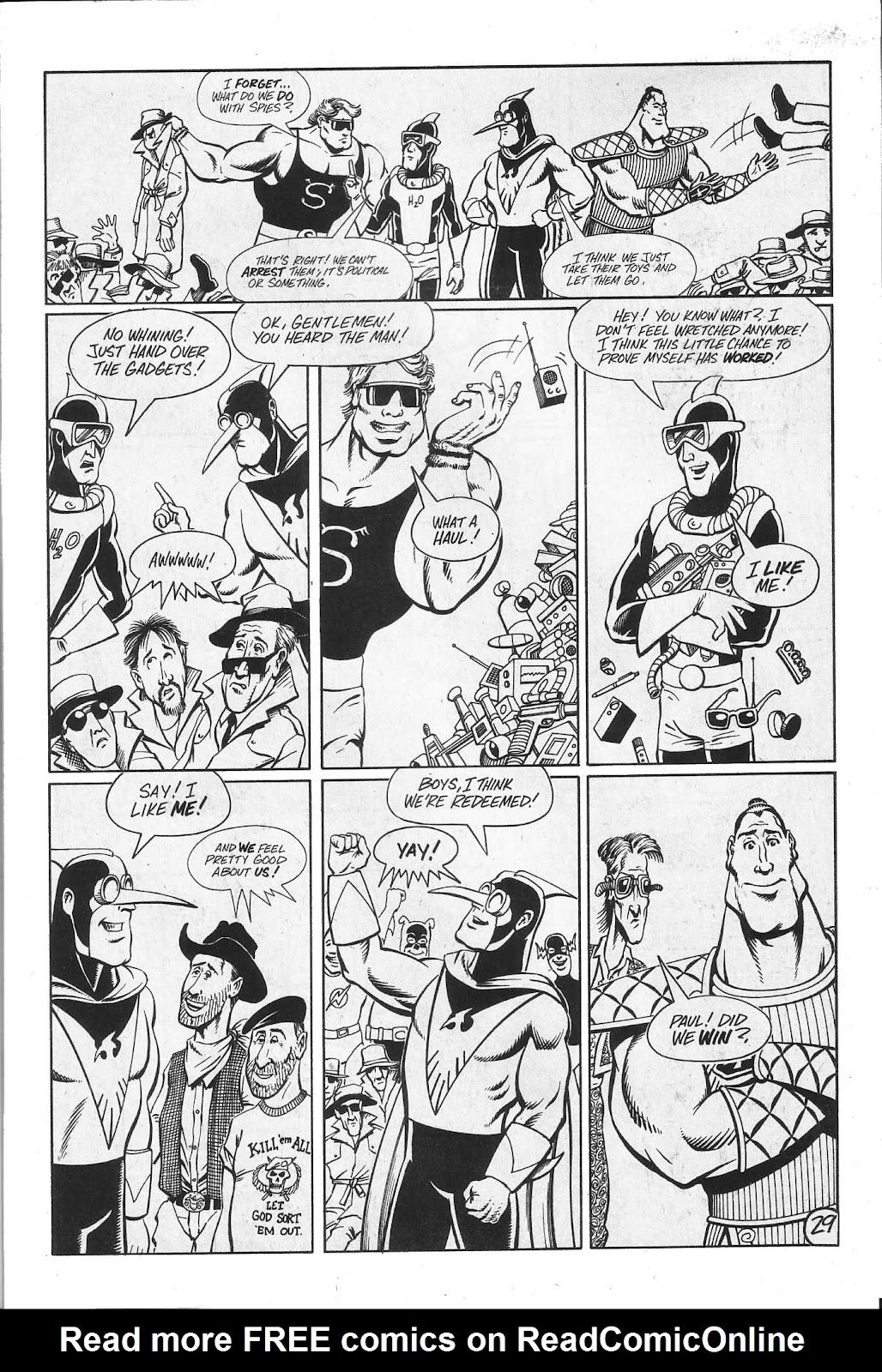 Read online Paul the Samurai (1991) comic -  Issue # TPB - 95