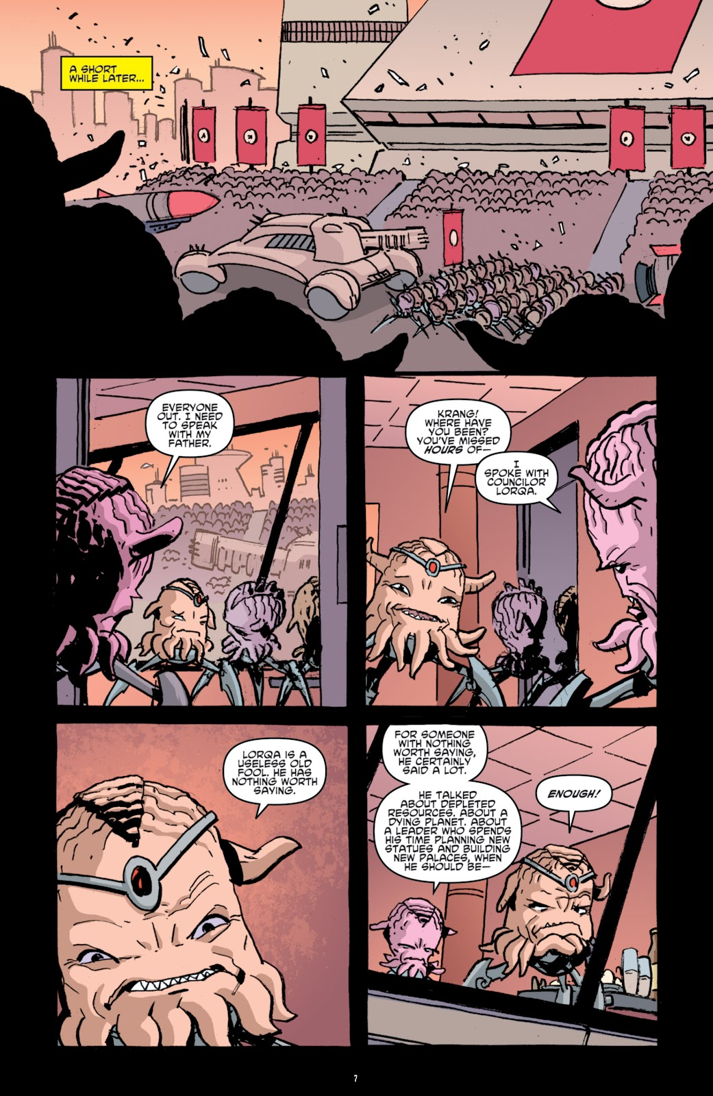Read online Teenage Mutant Ninja Turtles: The IDW Collection comic -  Issue # TPB 4 (Part 1) - 82