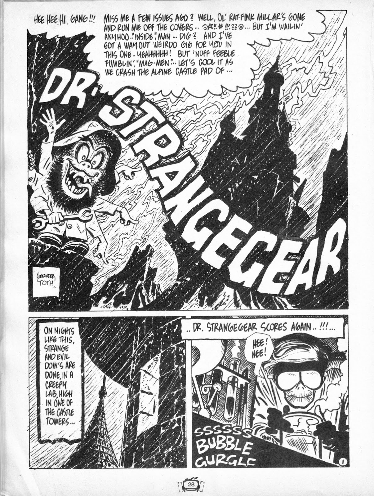 Drag Cartoons issue 7 - Page 28