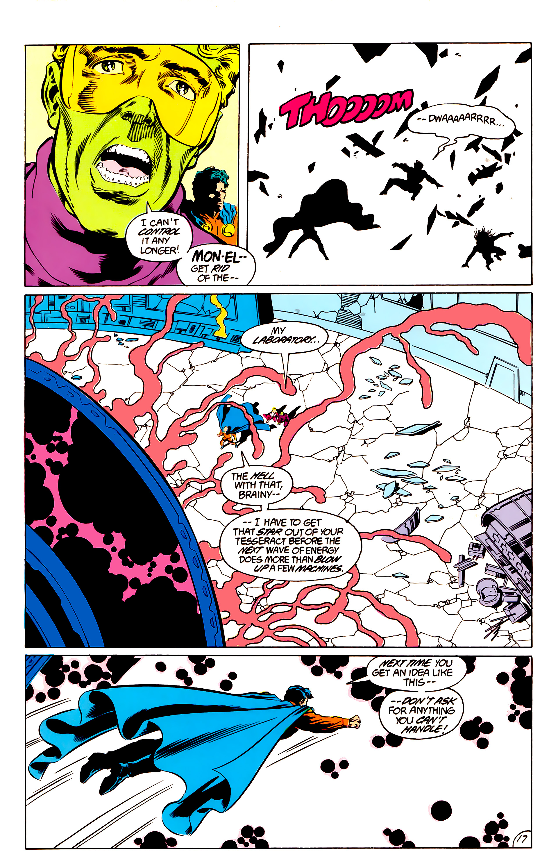 Legion of Super-Heroes (1984) 48 Page 17