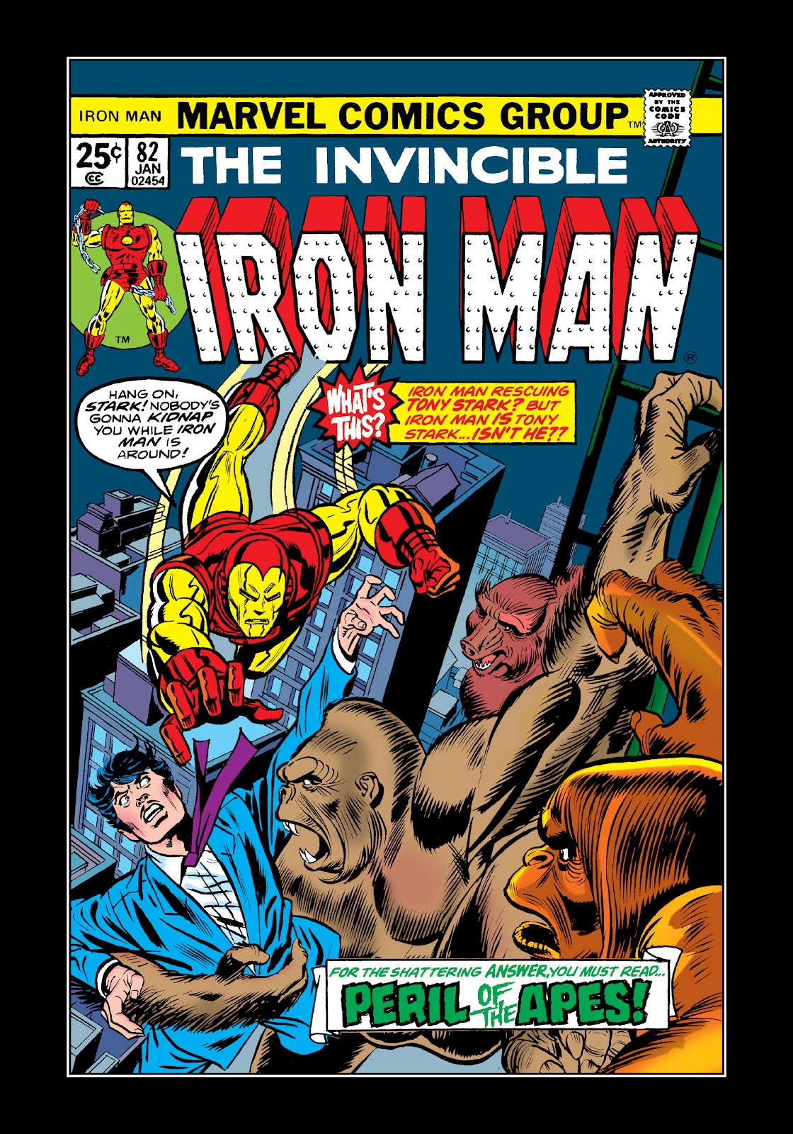 Read online Marvel Masterworks: The Invincible Iron Man comic -  Issue # TPB 11 (Part 1) - 9