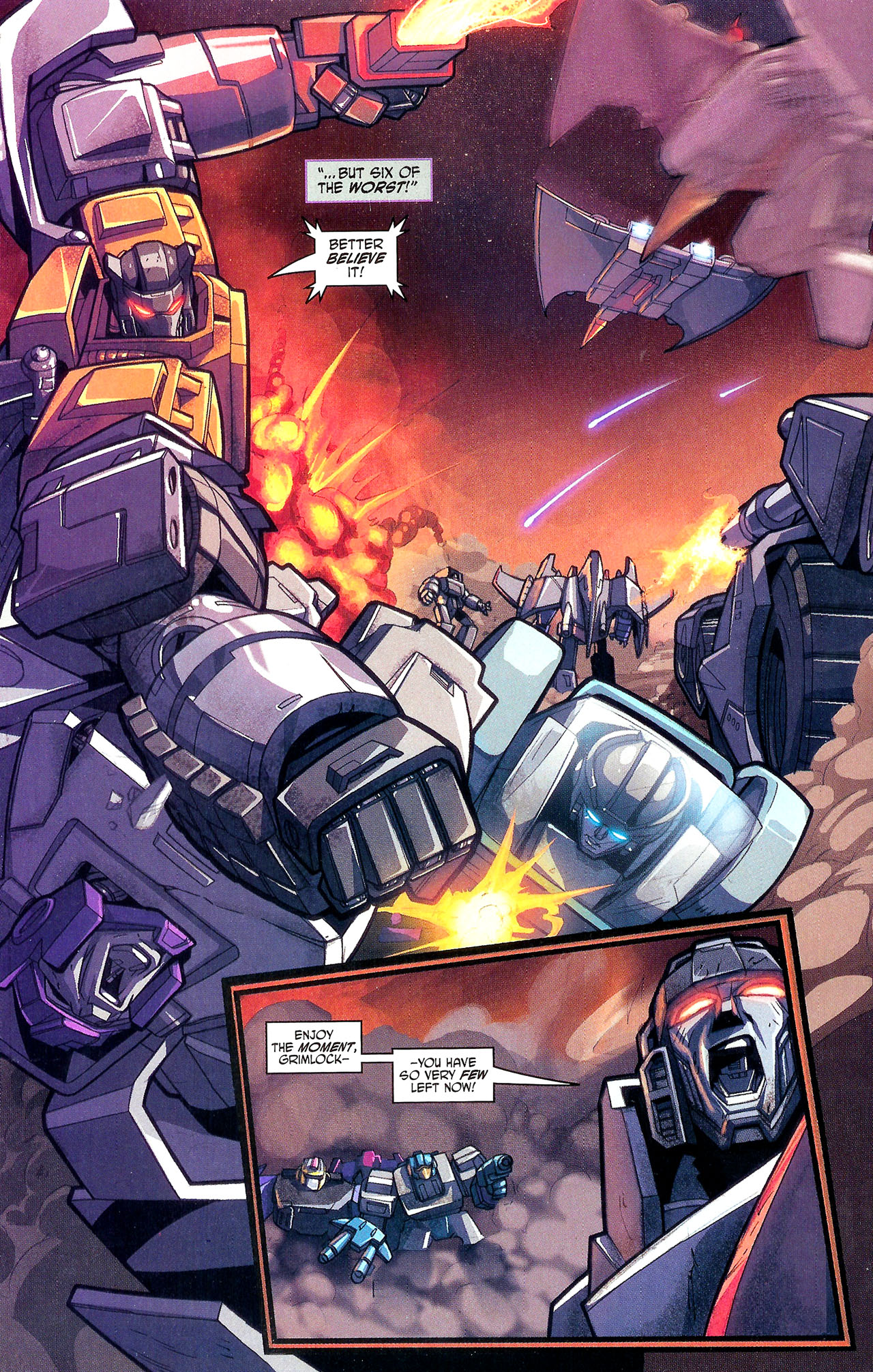 "Read online Transformers War Within: ""The Dark Ages"" comic -  Issue #1 - 21"