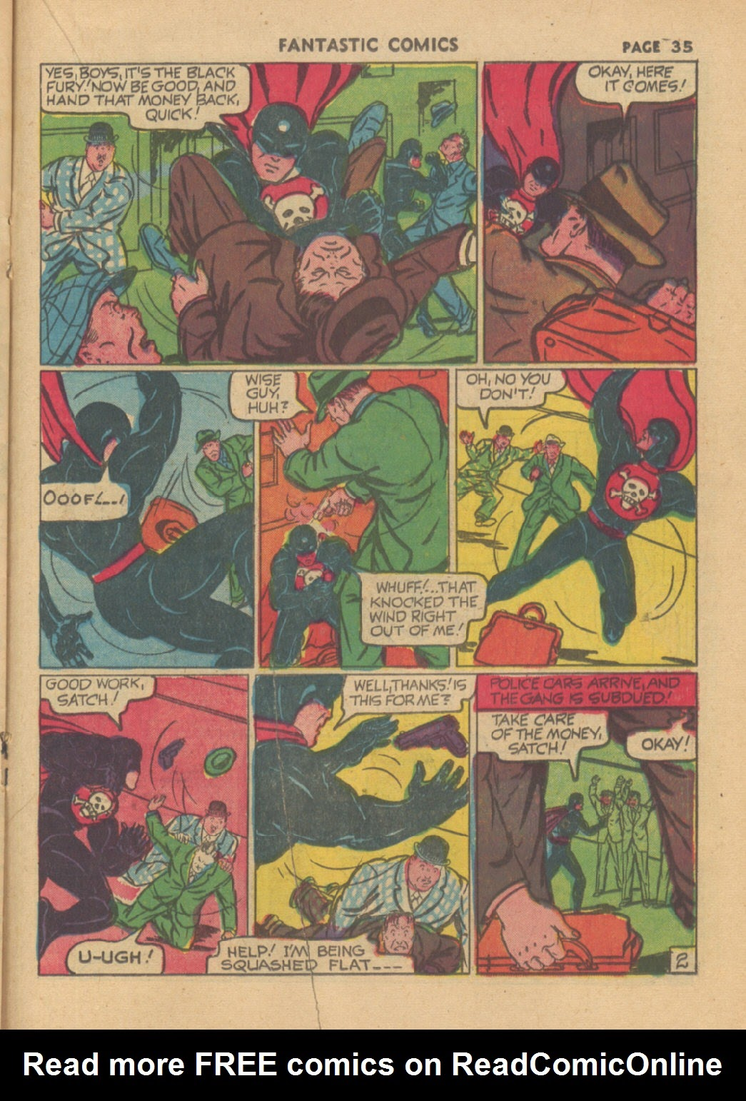 Read online Fantastic Comics comic -  Issue #23 - 36