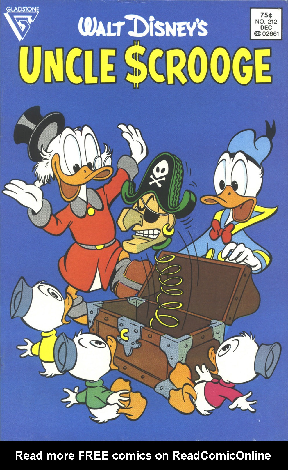 Read online Uncle Scrooge (1953) comic -  Issue #212 - 1