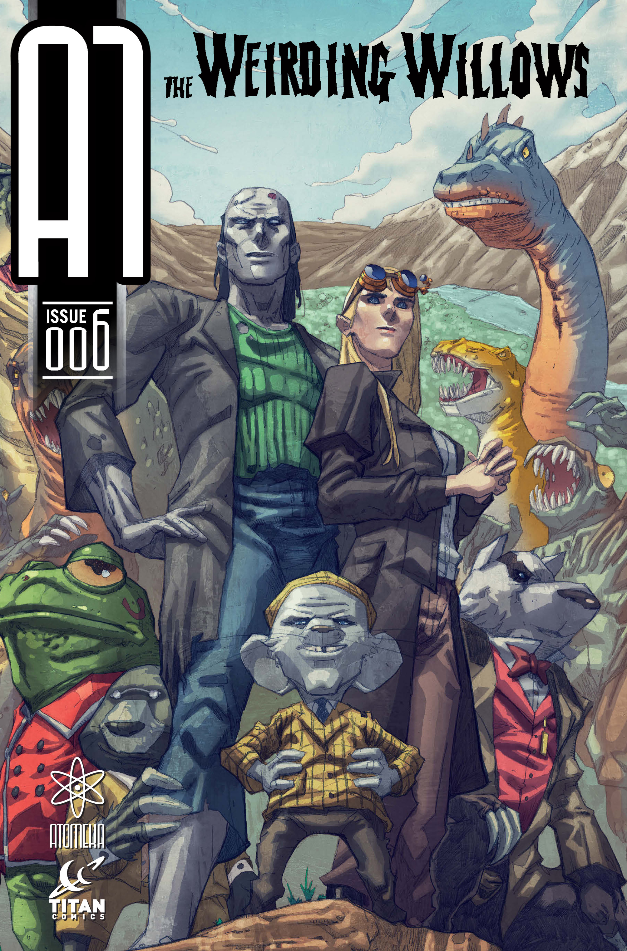Read online A1 comic -  Issue #6 - 1